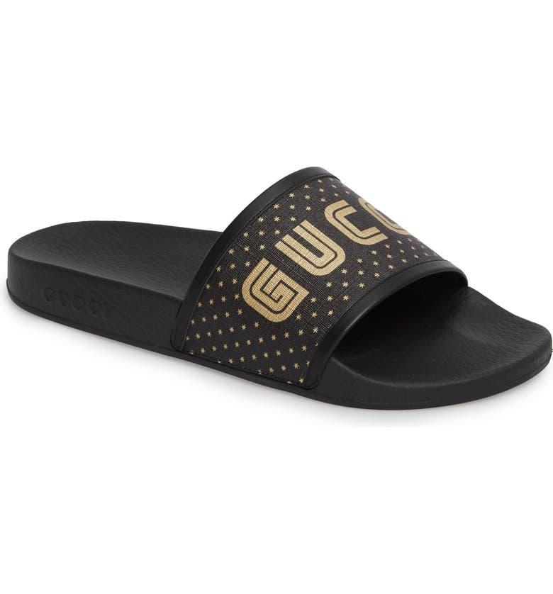 d9a914e6c9e00 Gucci Pursuit Slide Sandal (Men)