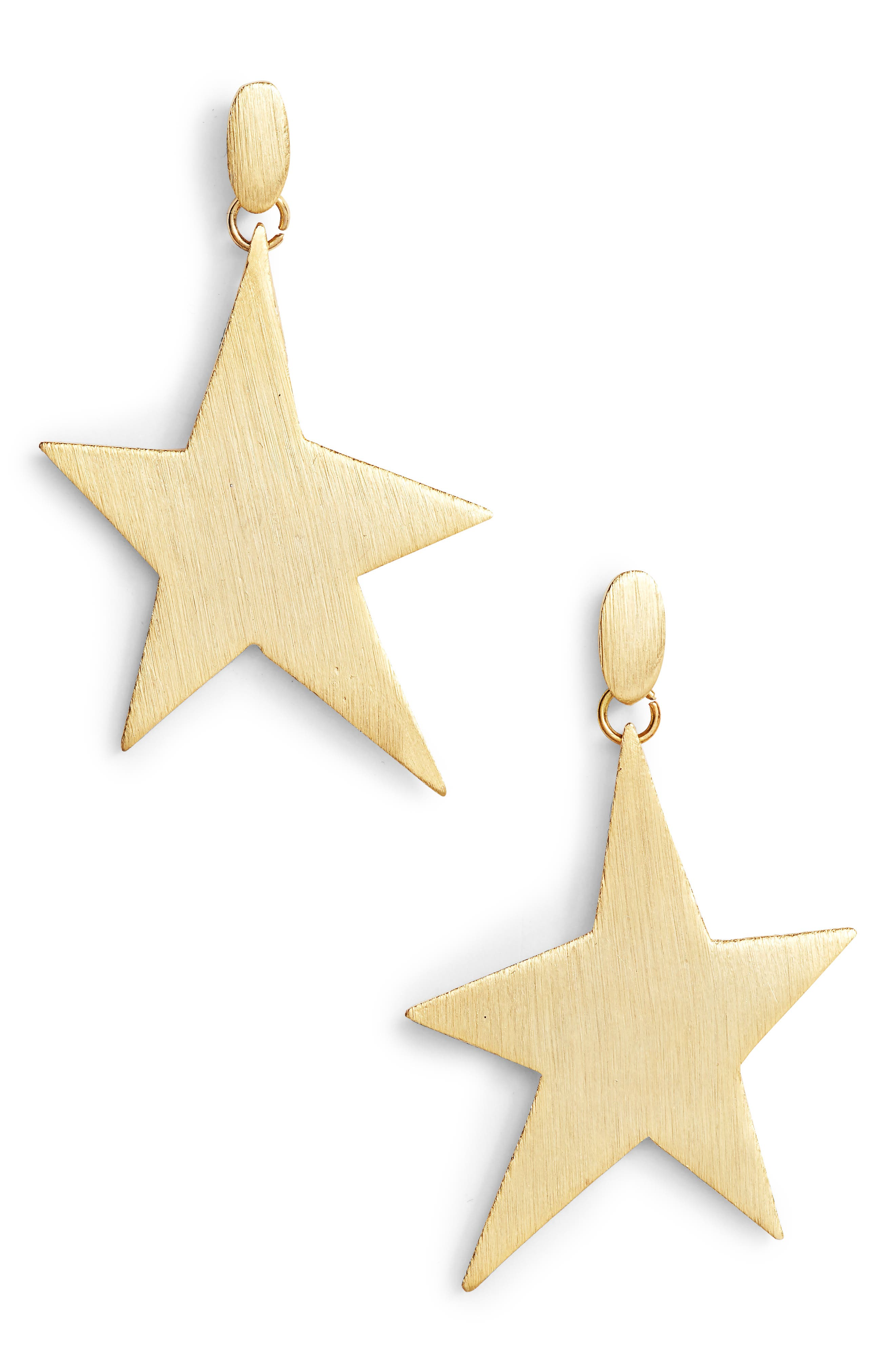Star Girl Drama Drop Earrings,                         Main,                         color,