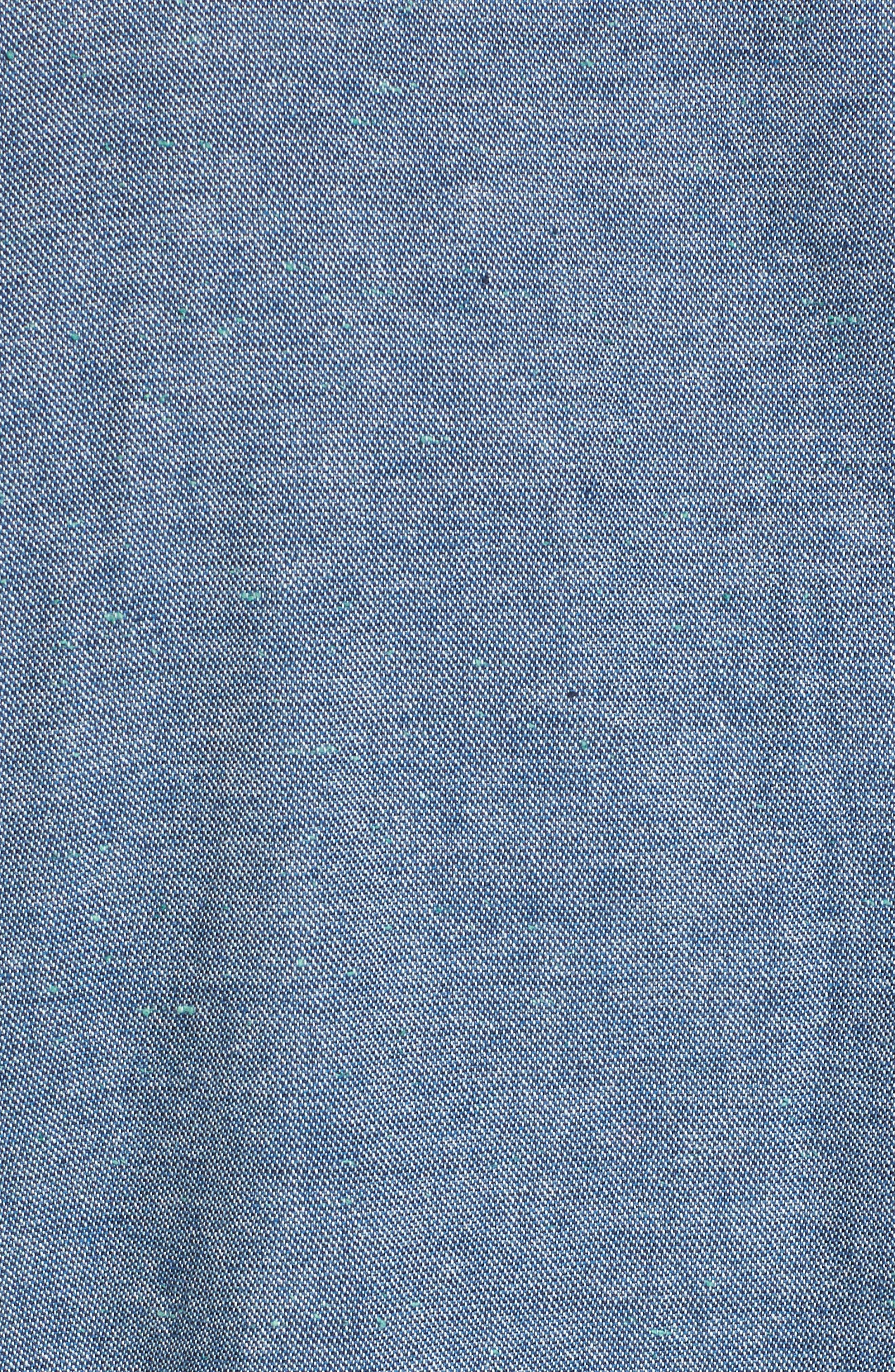 Chambray Shirt,                             Alternate thumbnail 10, color,