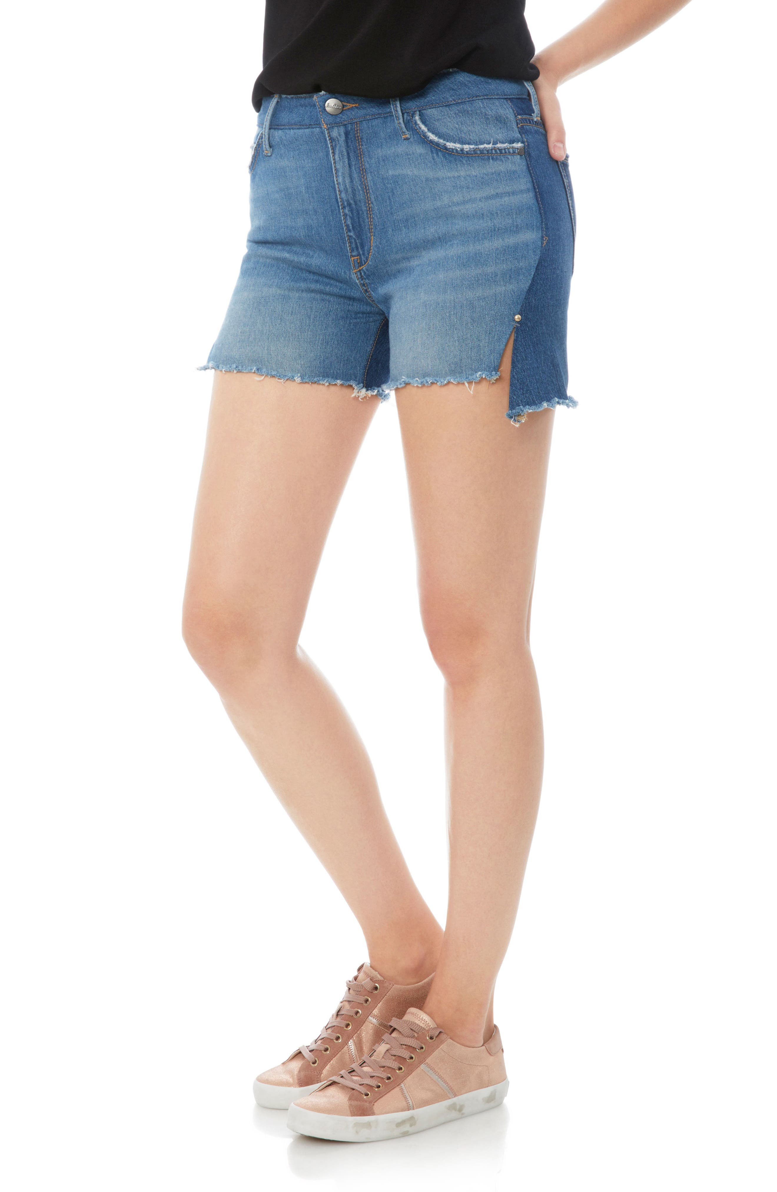 The Bootie Jean Shorts,                             Main thumbnail 1, color,                             410