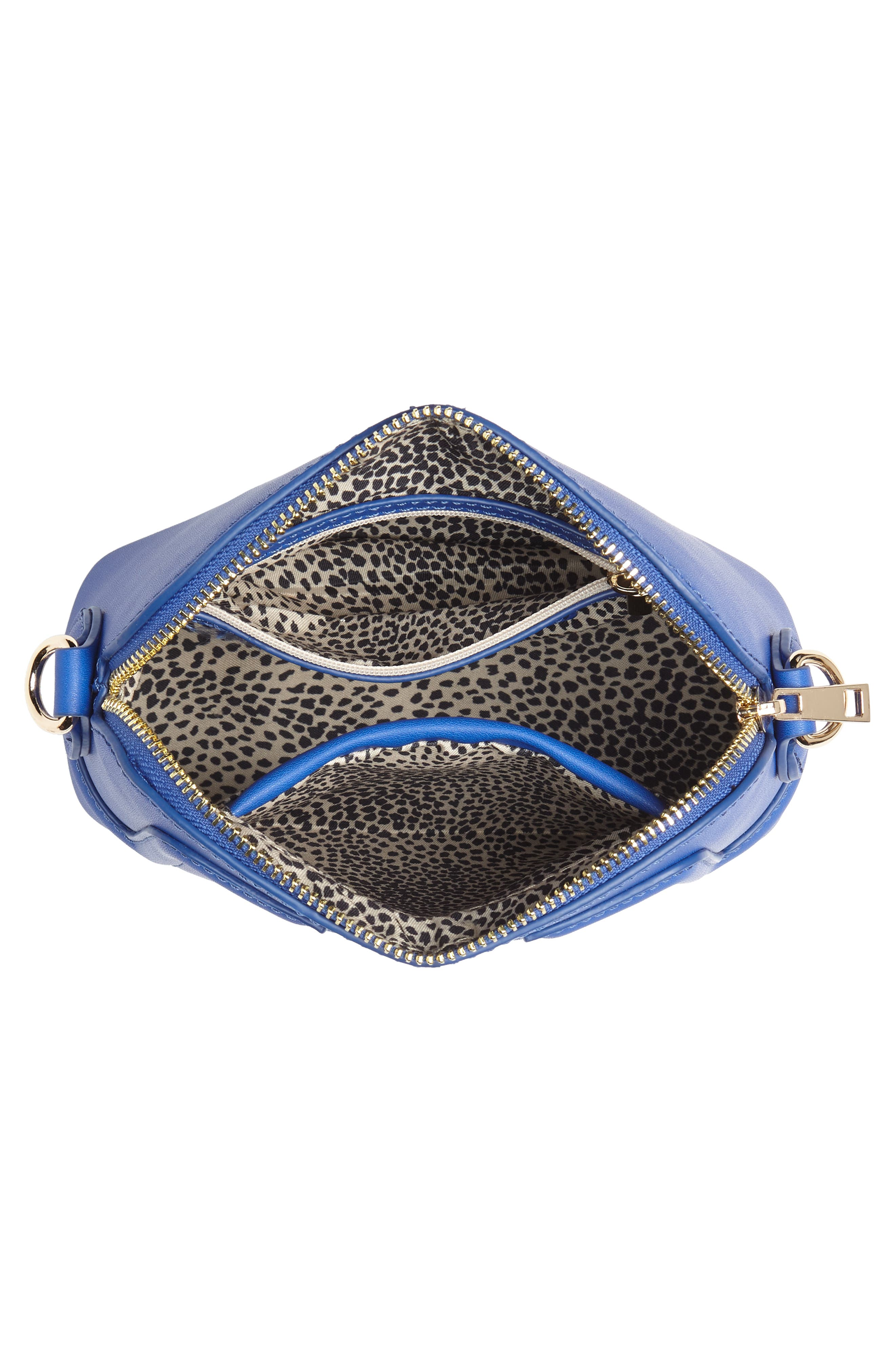 Structured Faux Leather Dome Crossbody,                             Alternate thumbnail 14, color,
