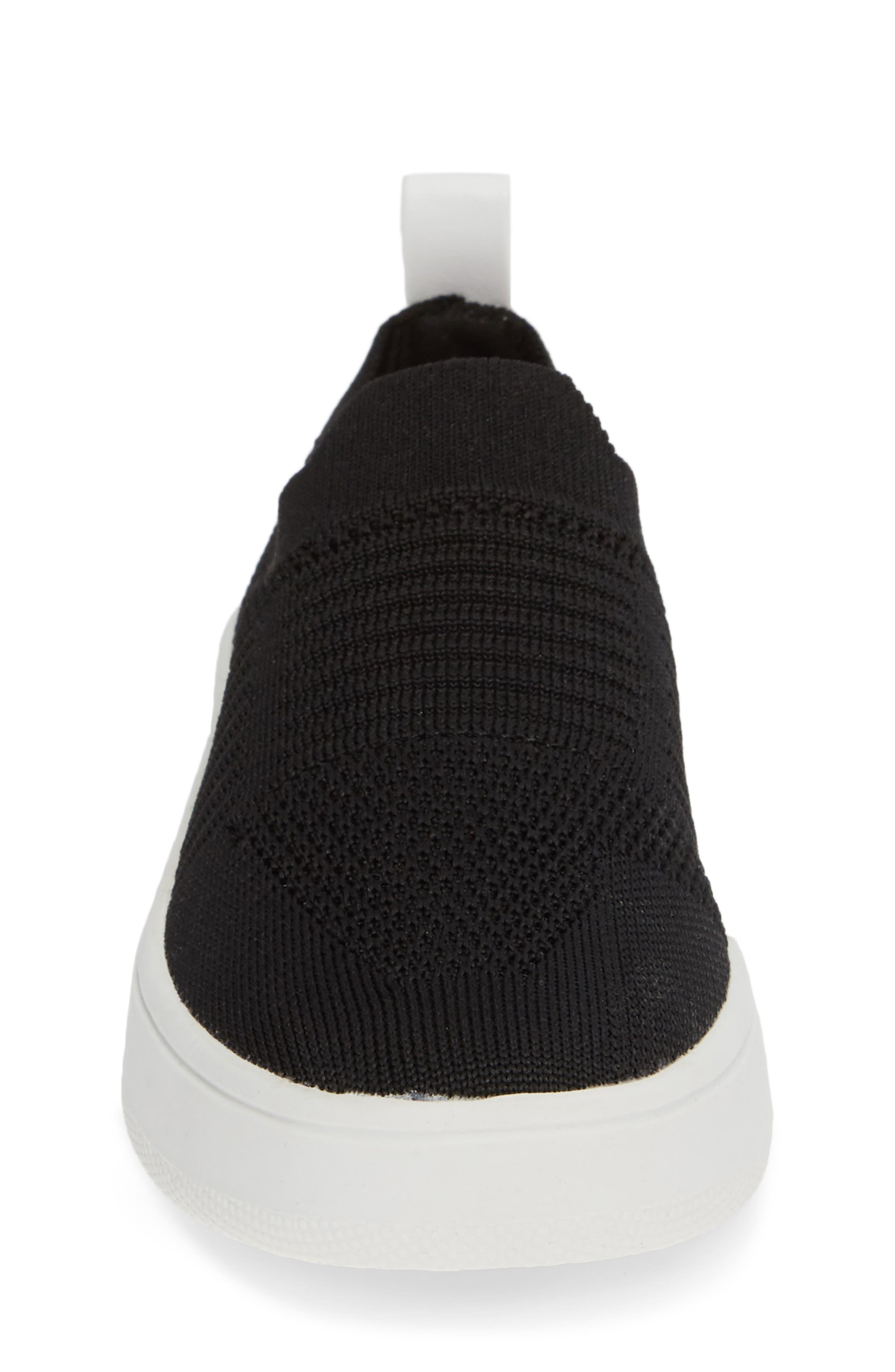 JBEALE Knit Slip-On Sneaker,                             Alternate thumbnail 4, color,                             017