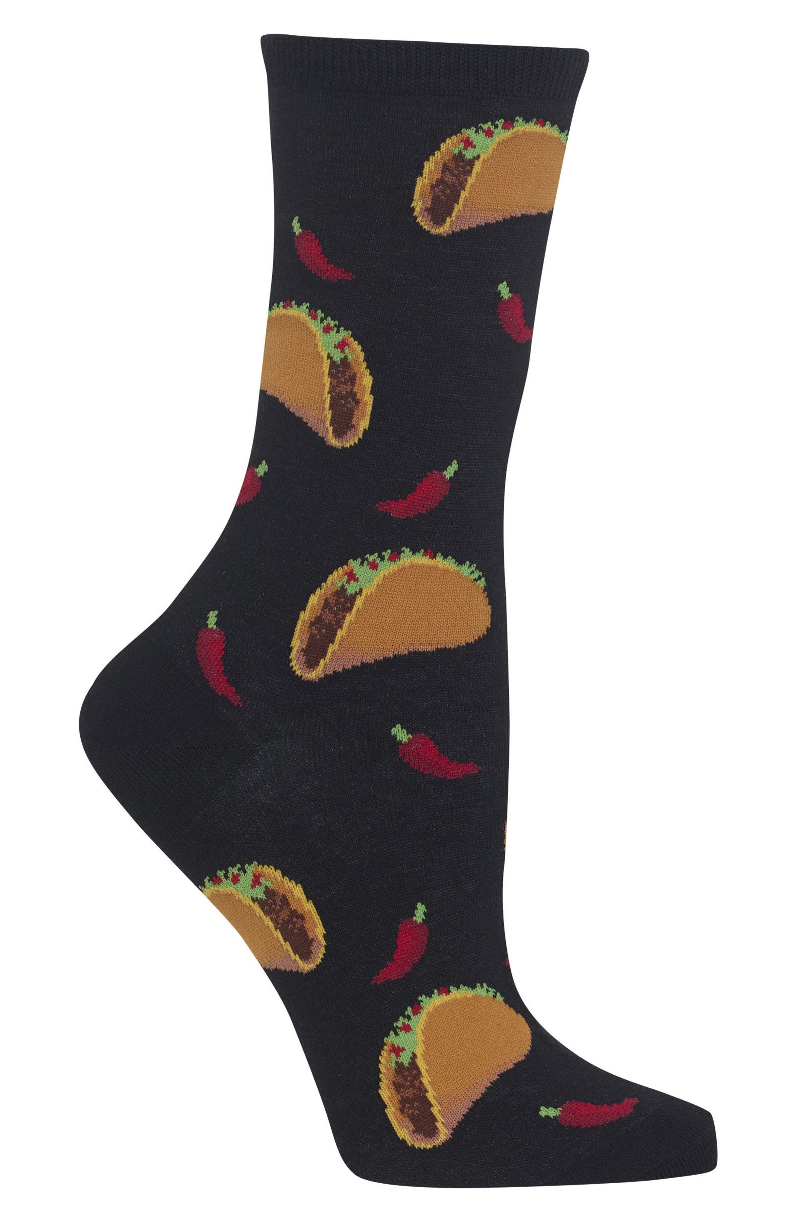 Taco Crew Socks,                             Alternate thumbnail 2, color,                             001