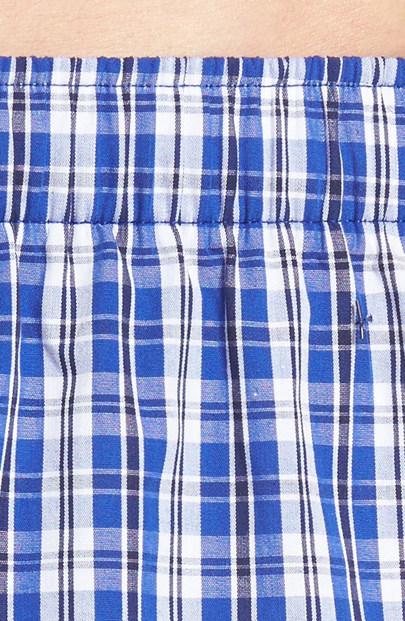 Stripe Cotton Boxers,                             Alternate thumbnail 14, color,