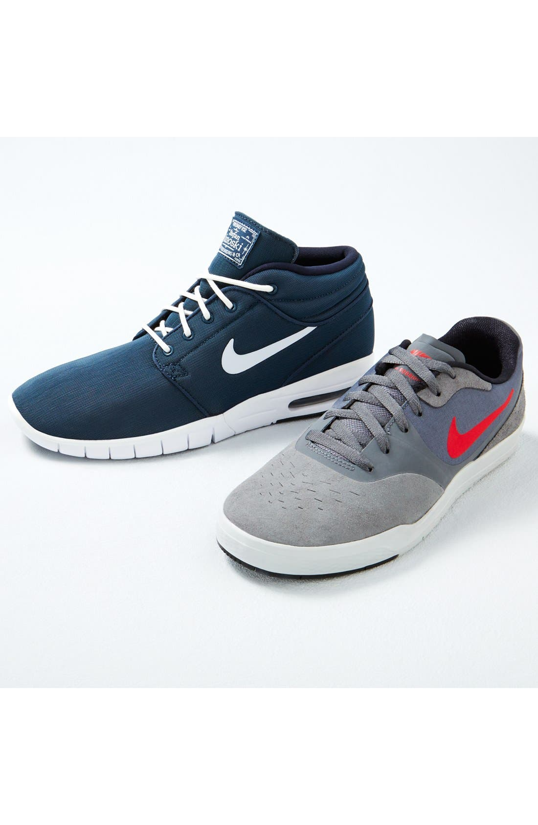 SB Stefan Janoski Max Mid Skate Shoe,                             Alternate thumbnail 9, color,                             005