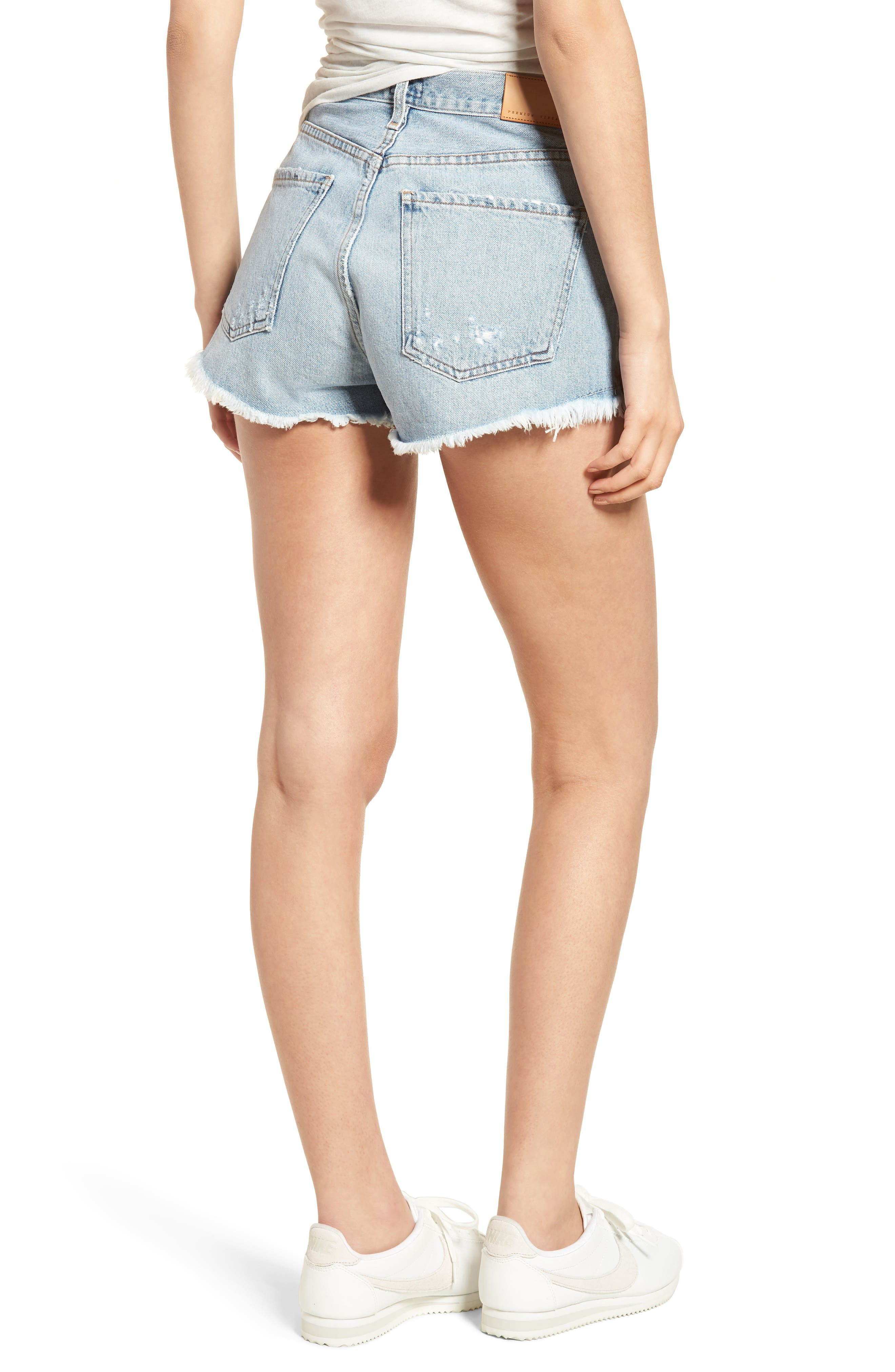 Danielle Cutoff Shorts,                             Alternate thumbnail 2, color,                             454