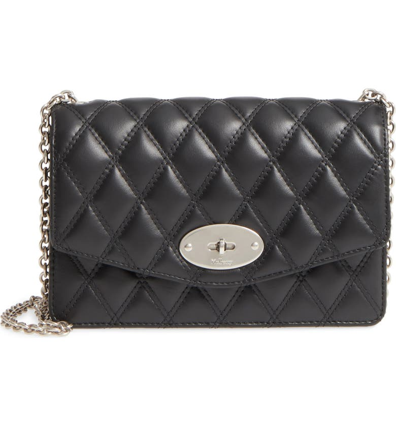 5ccadde2b997 Mulberry Small Darley Lock Quilted Calfskin Leather Clutch