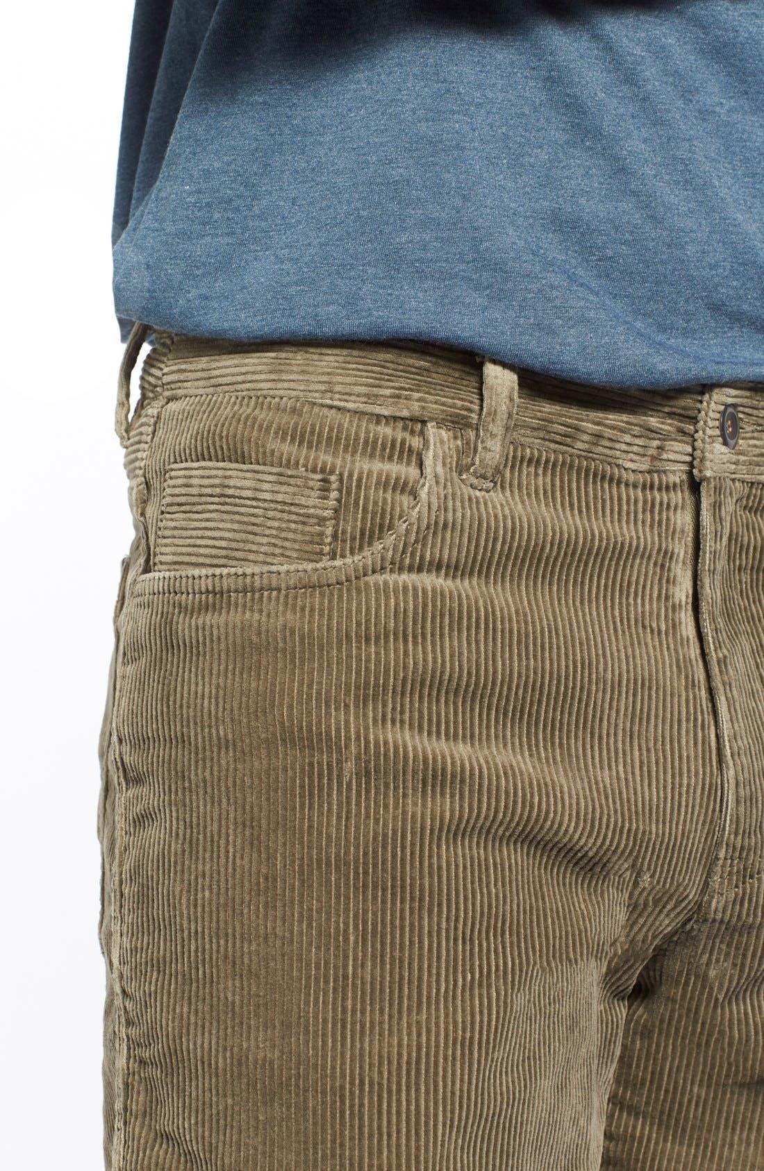 Kordo Corduroy Walking Shorts,                             Alternate thumbnail 7, color,