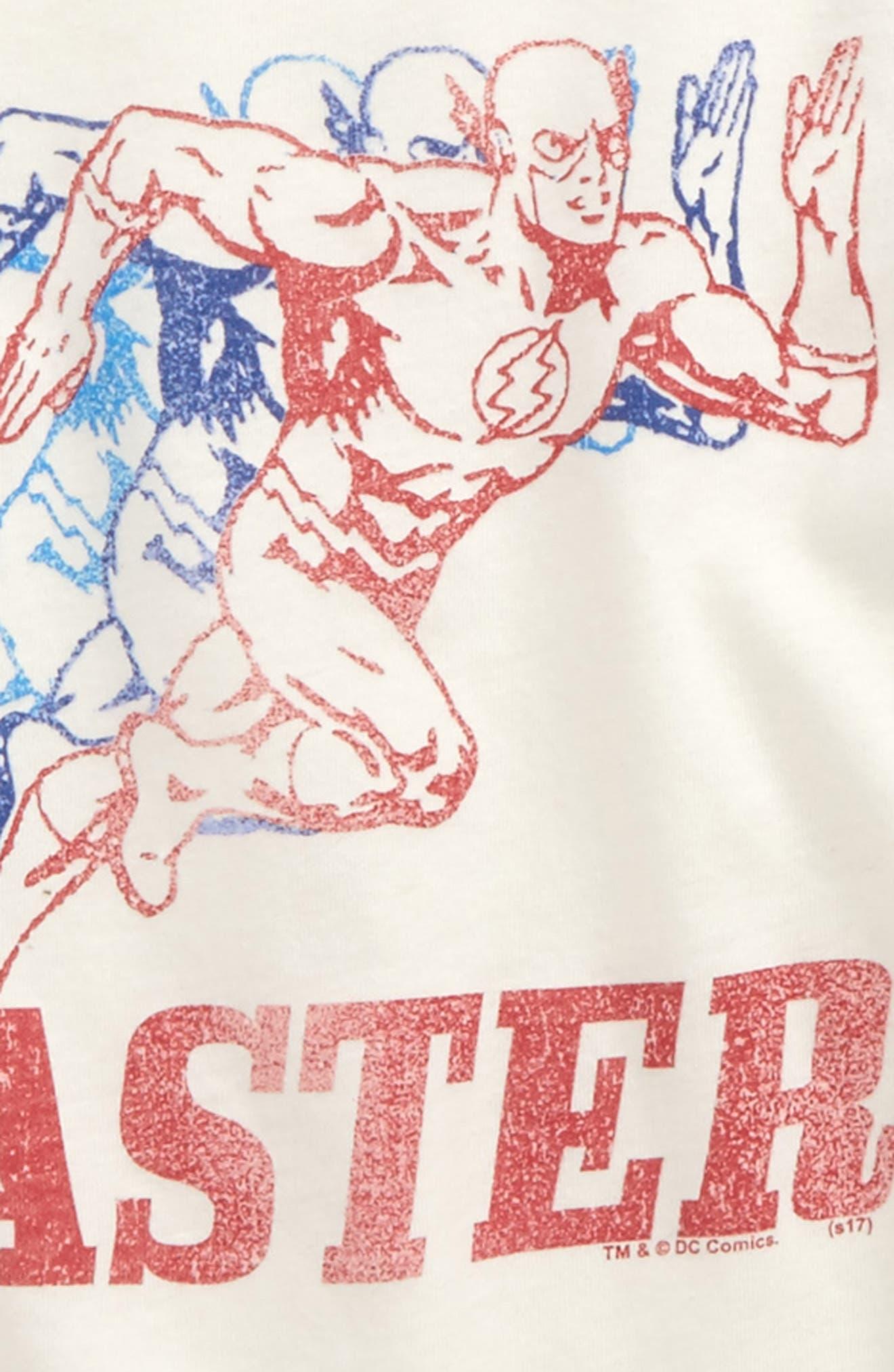 The Flash Graphic Raglan Shirt,                             Alternate thumbnail 2, color,                             900