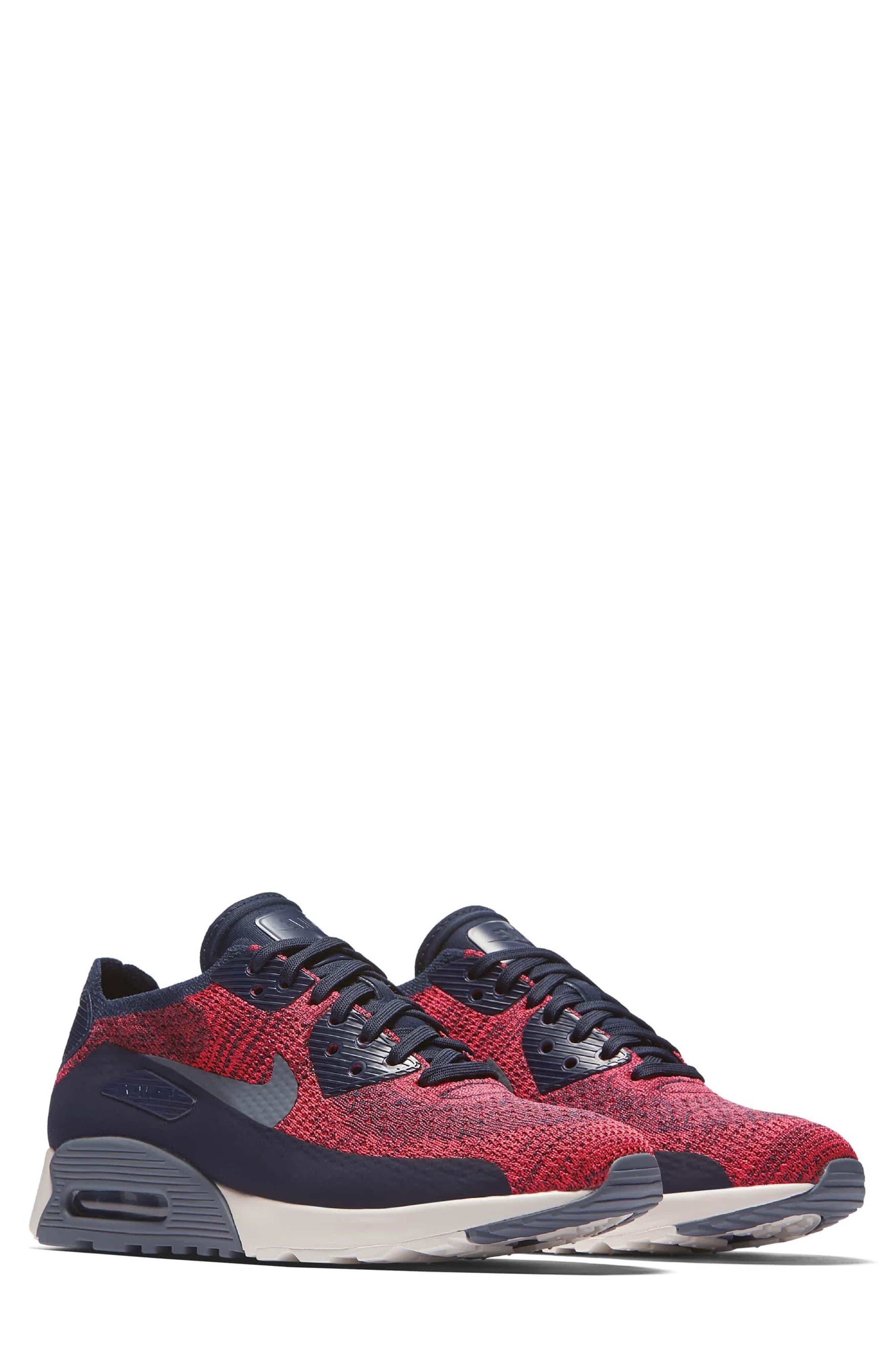 Air Max 90 Flyknit Ultra 2.0 Sneaker,                             Main thumbnail 3, color,