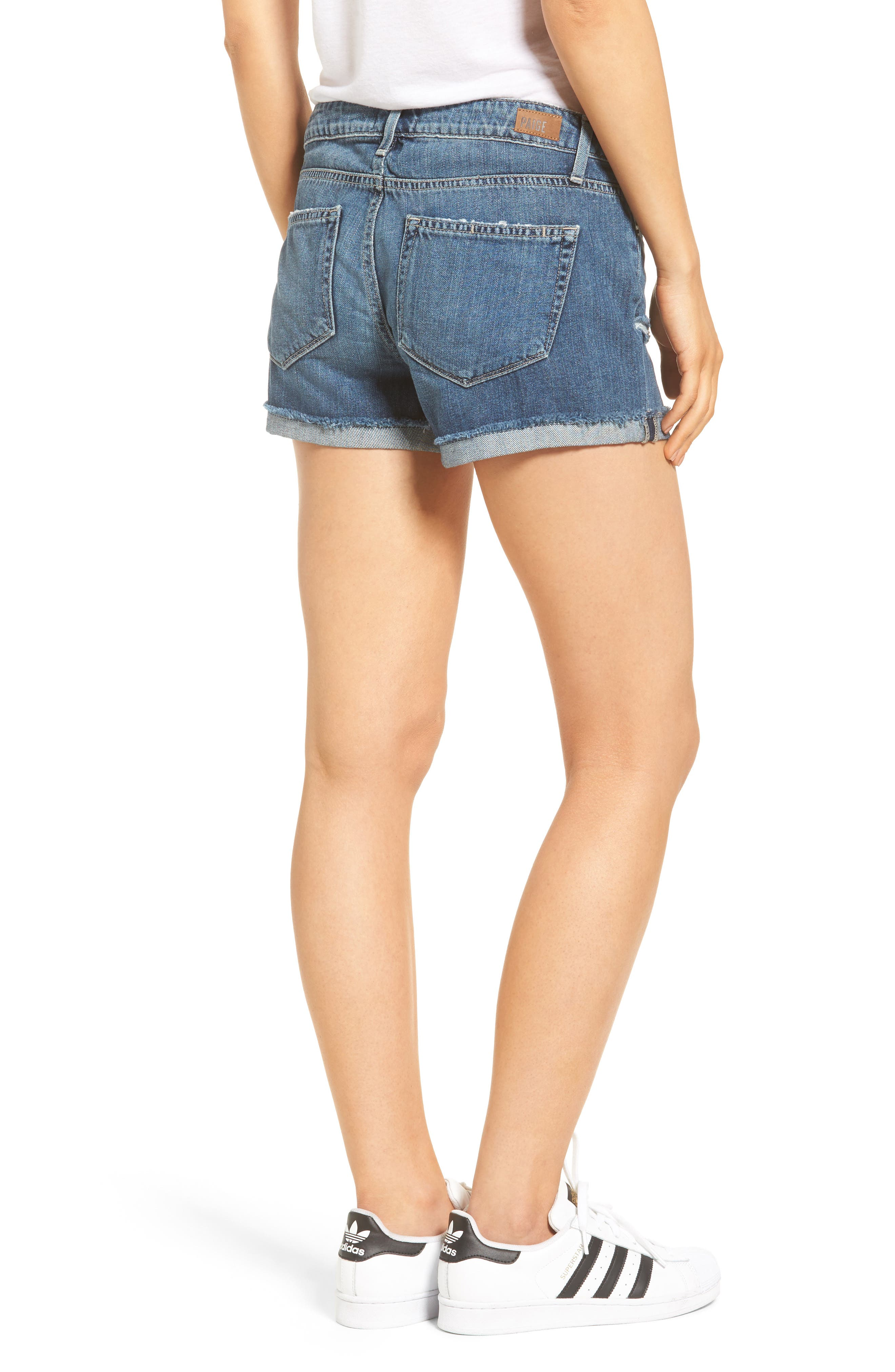 Jimmy Jimmy Denim Shorts,                             Alternate thumbnail 2, color,