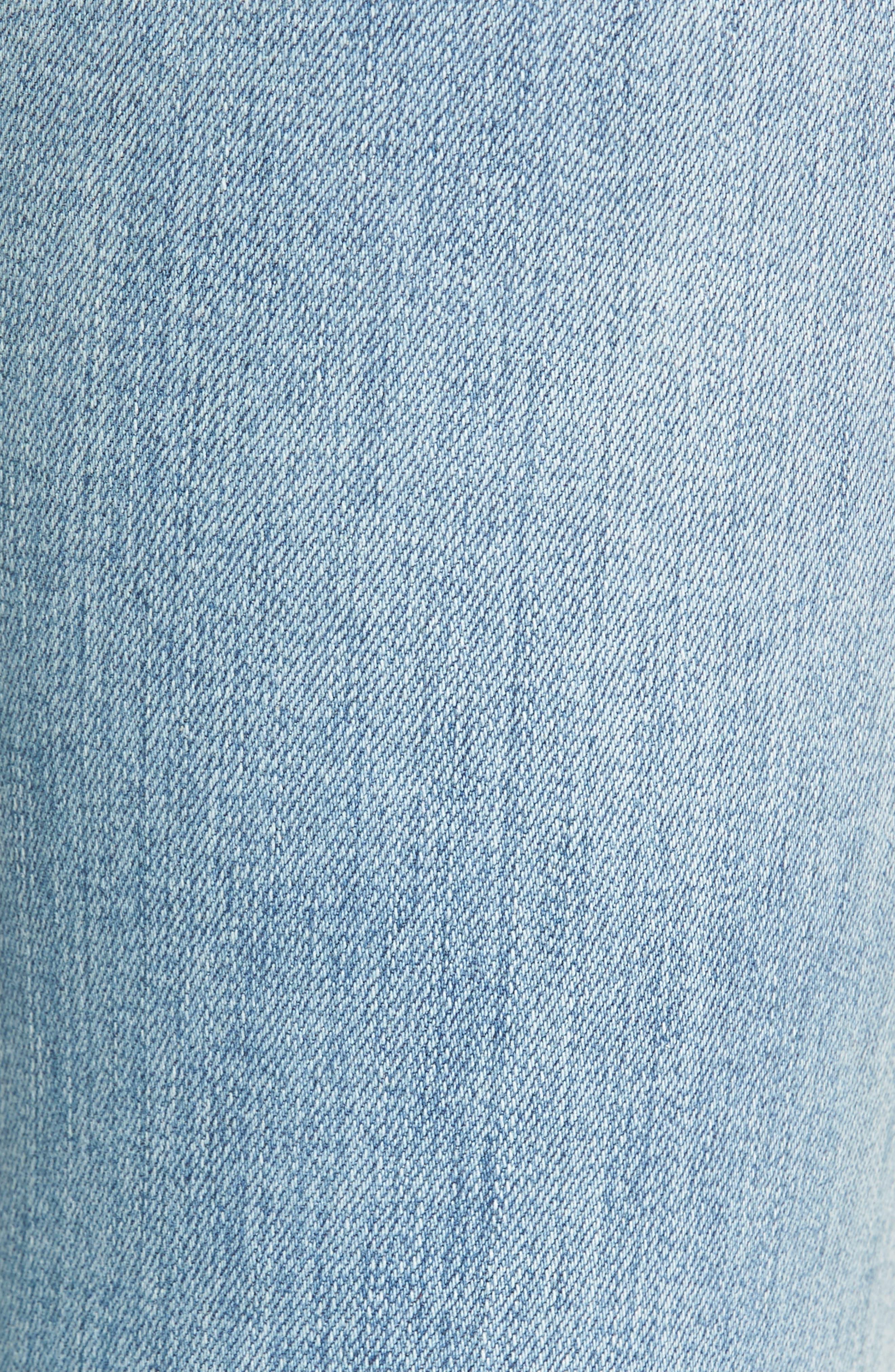 Mile High Super Skinny Jeans,                             Alternate thumbnail 6, color,