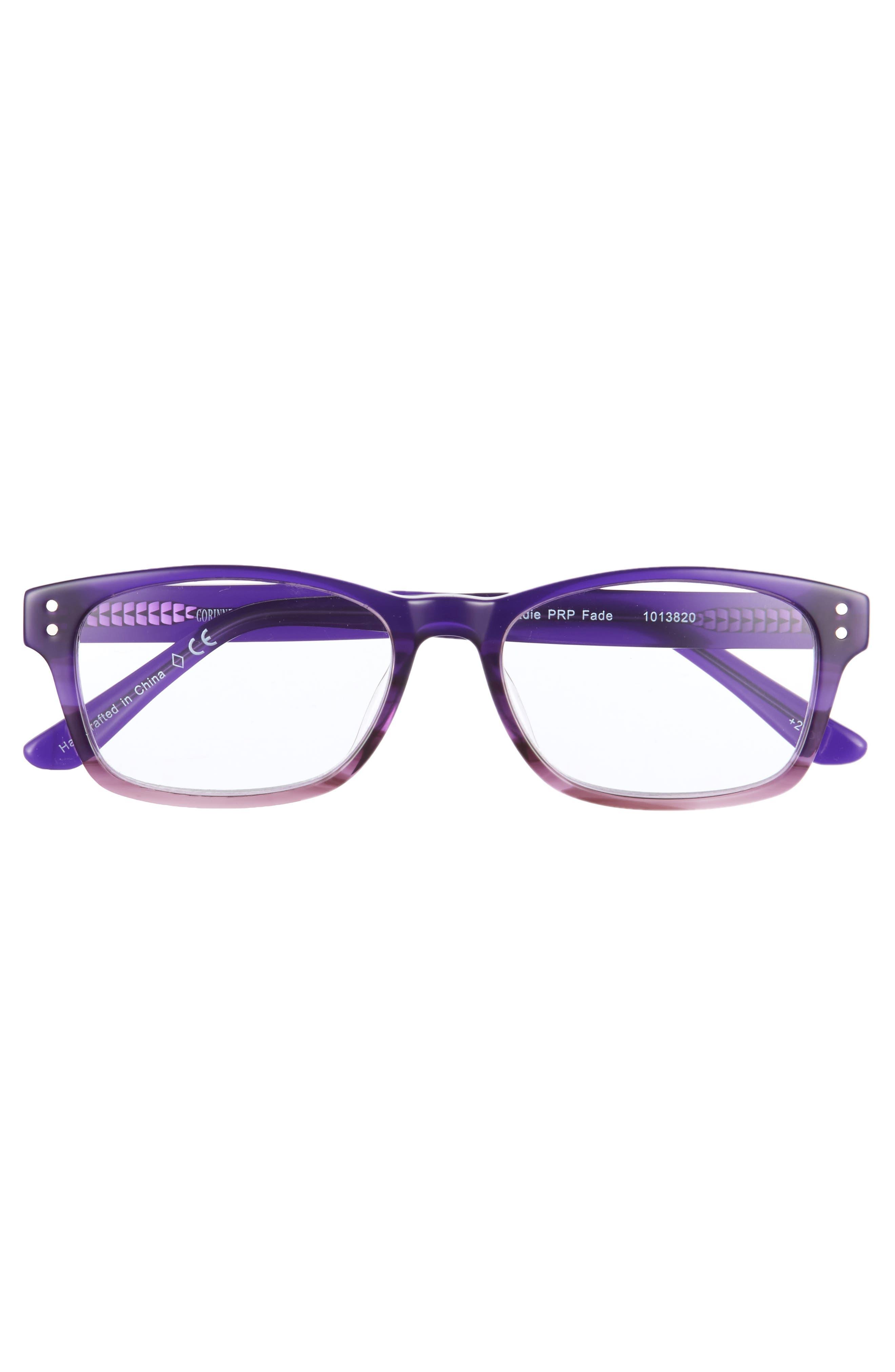Edie 50mm Reading Glasses,                             Alternate thumbnail 3, color,                             500