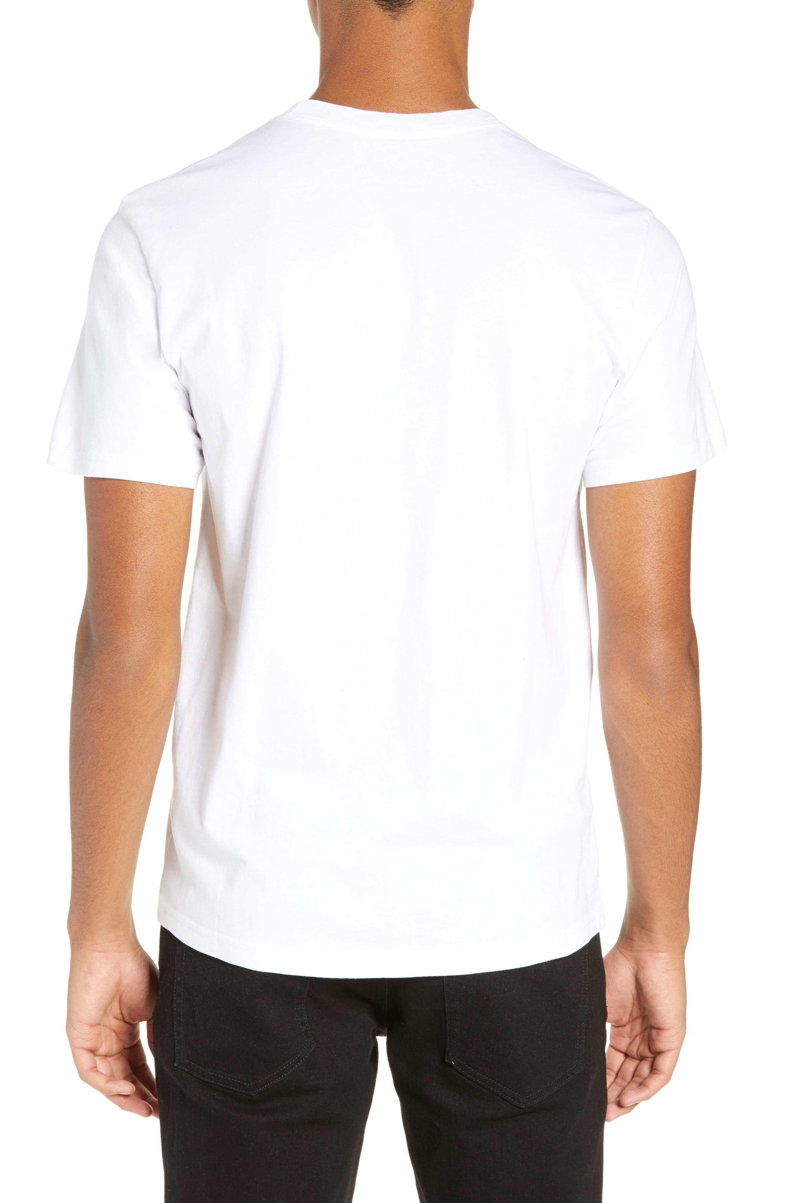 Clashing Graphic T-Shirt,                             Alternate thumbnail 2, color,                             WHITE