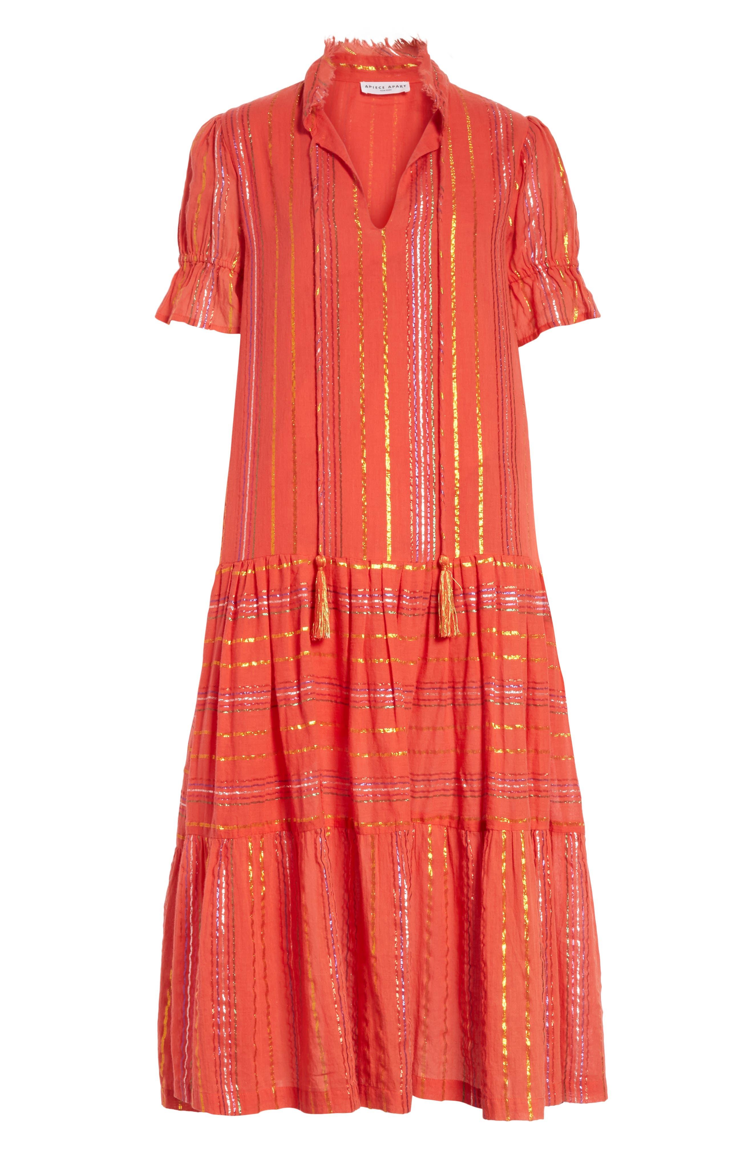 Los Altos Midi Dress,                             Alternate thumbnail 6, color,
