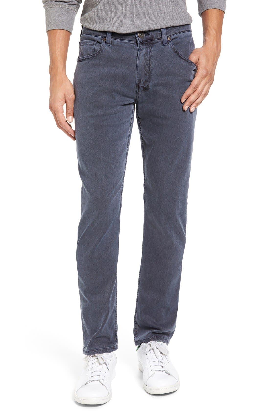 Transcend - Federal Slim Straight Leg Jeans,                             Alternate thumbnail 6, color,                             VINTAGE NAVY