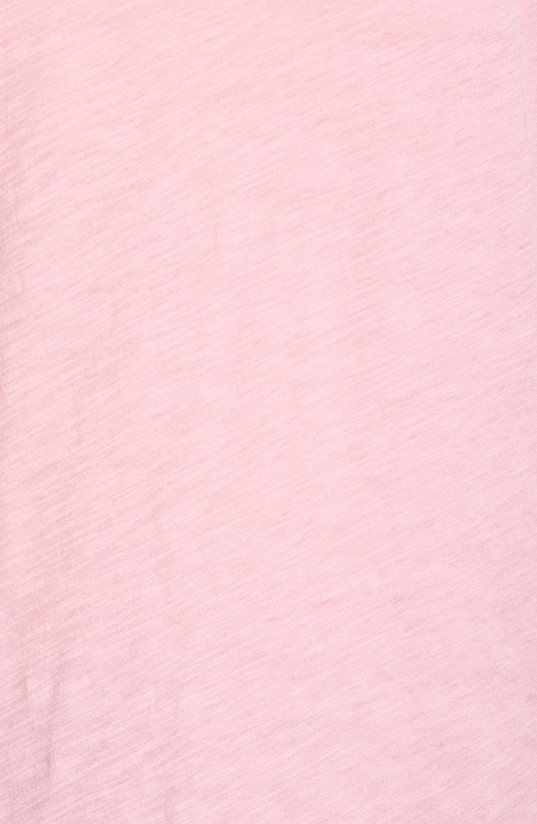 Whisper Cotton V-Neck Pocket Tee,                             Alternate thumbnail 199, color,