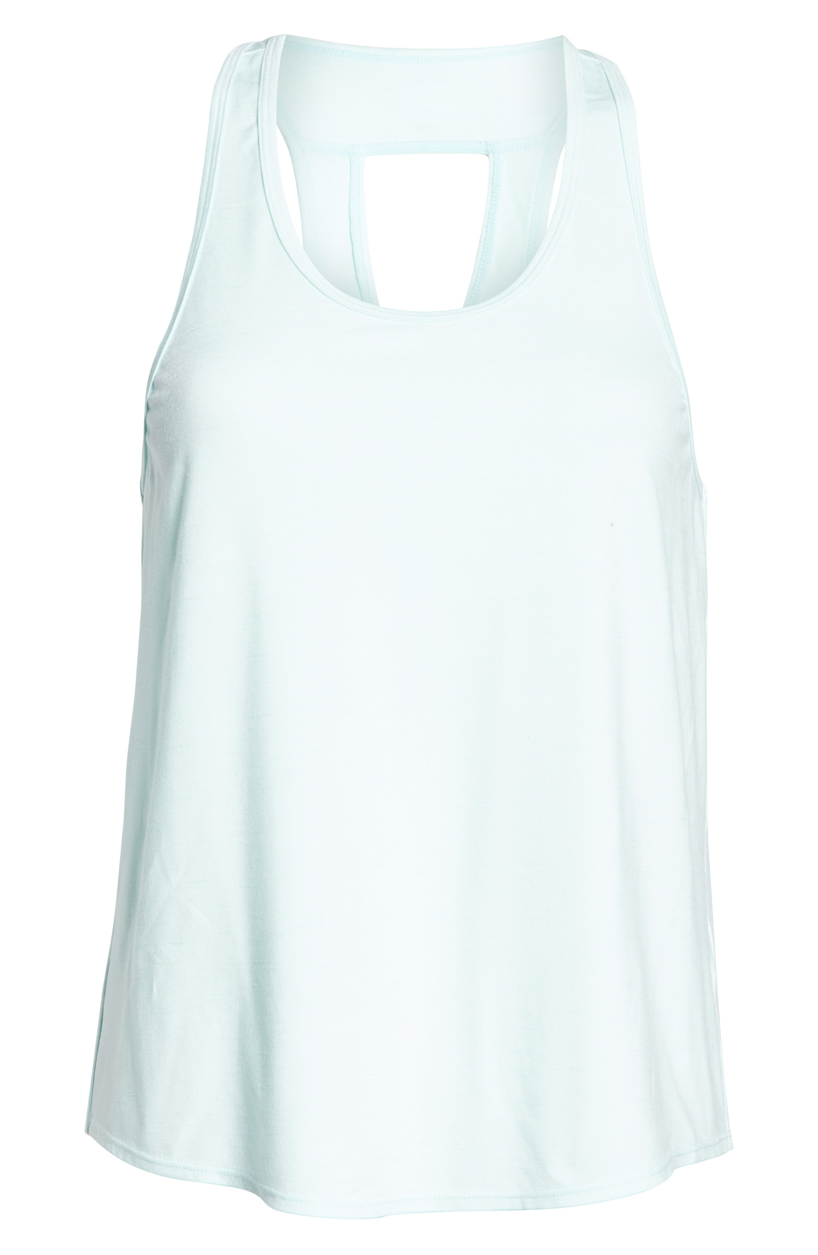 ZELLA,                             Intention Tank,                             Alternate thumbnail 8, color,                             TEAL FAIR