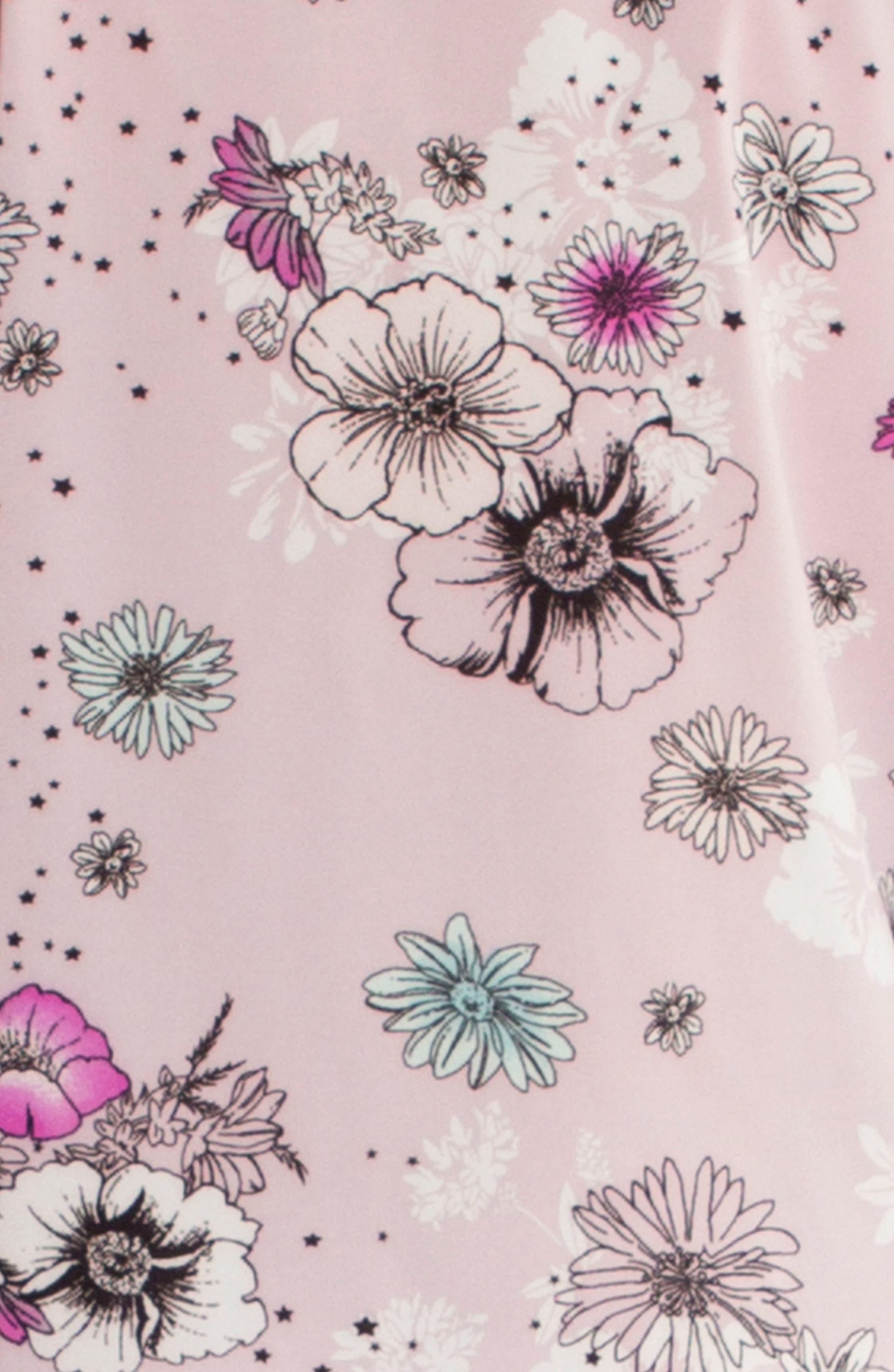Crop Pajama Top,                             Alternate thumbnail 4, color,