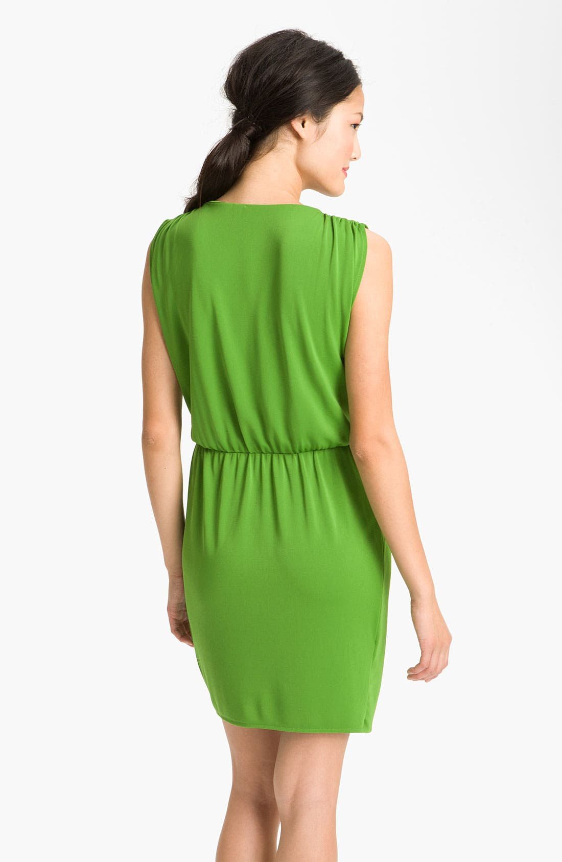 Faux Wrap Dress,                             Alternate thumbnail 3, color,                             327