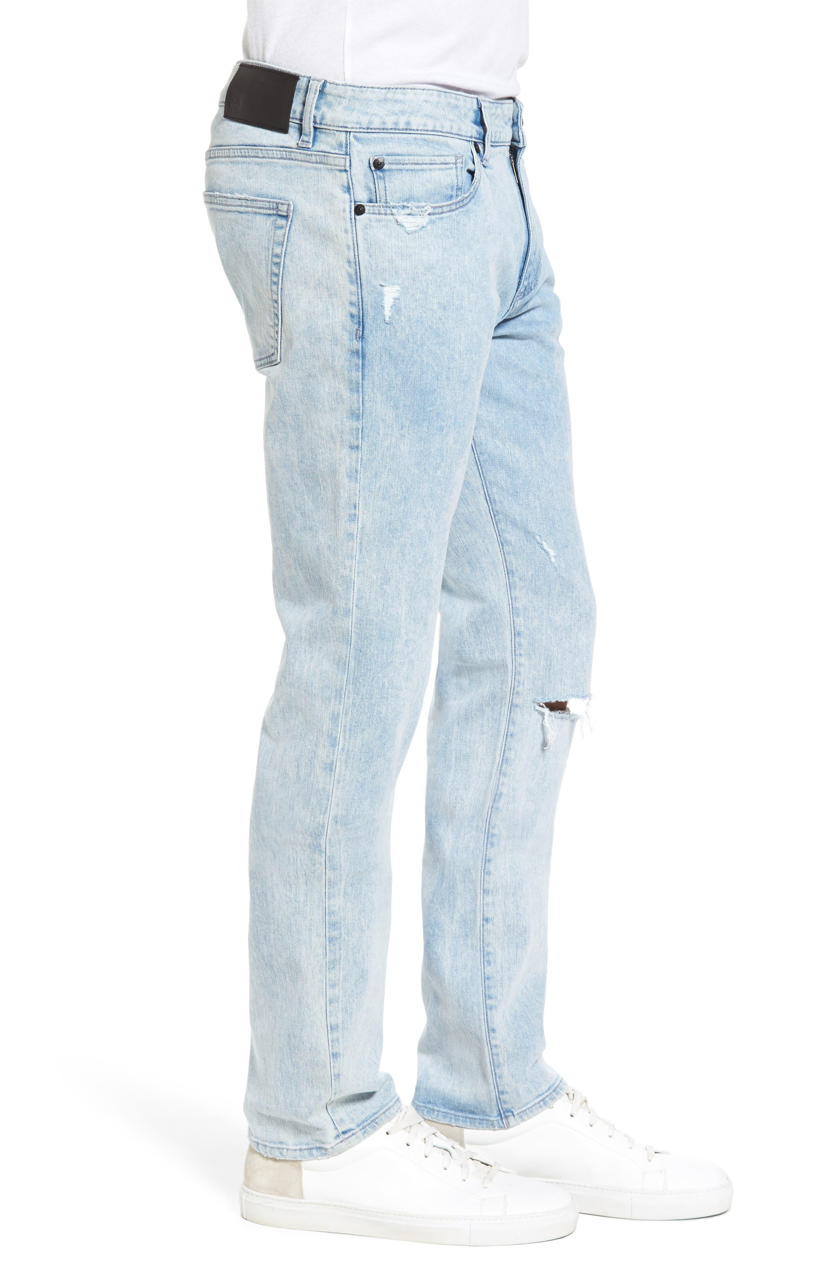 Nick Slim Fit Jeans,                             Alternate thumbnail 3, color,                             TORRENT