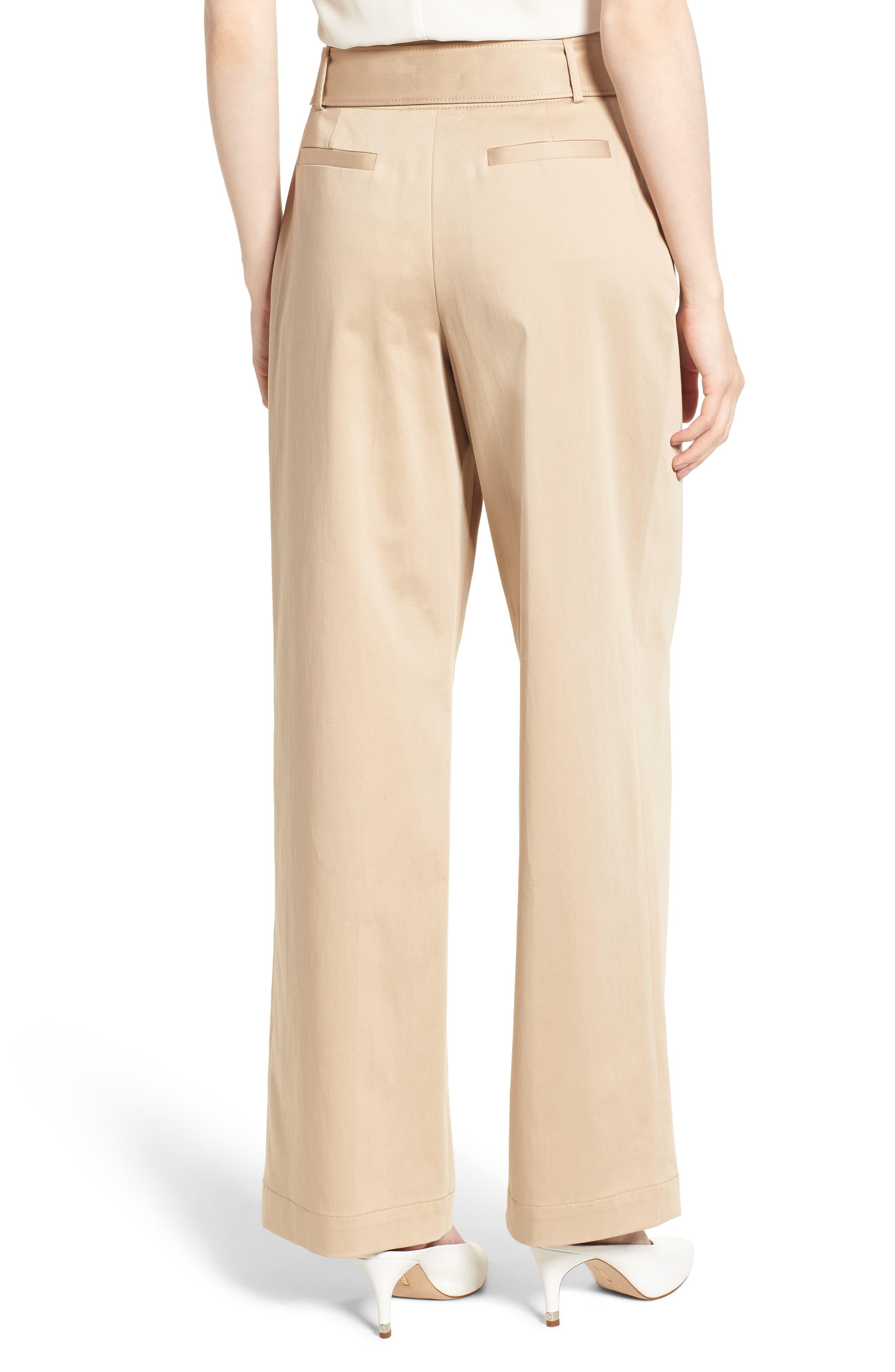Wide Leg Pants,                             Alternate thumbnail 2, color,                             BEIGE CEMENT