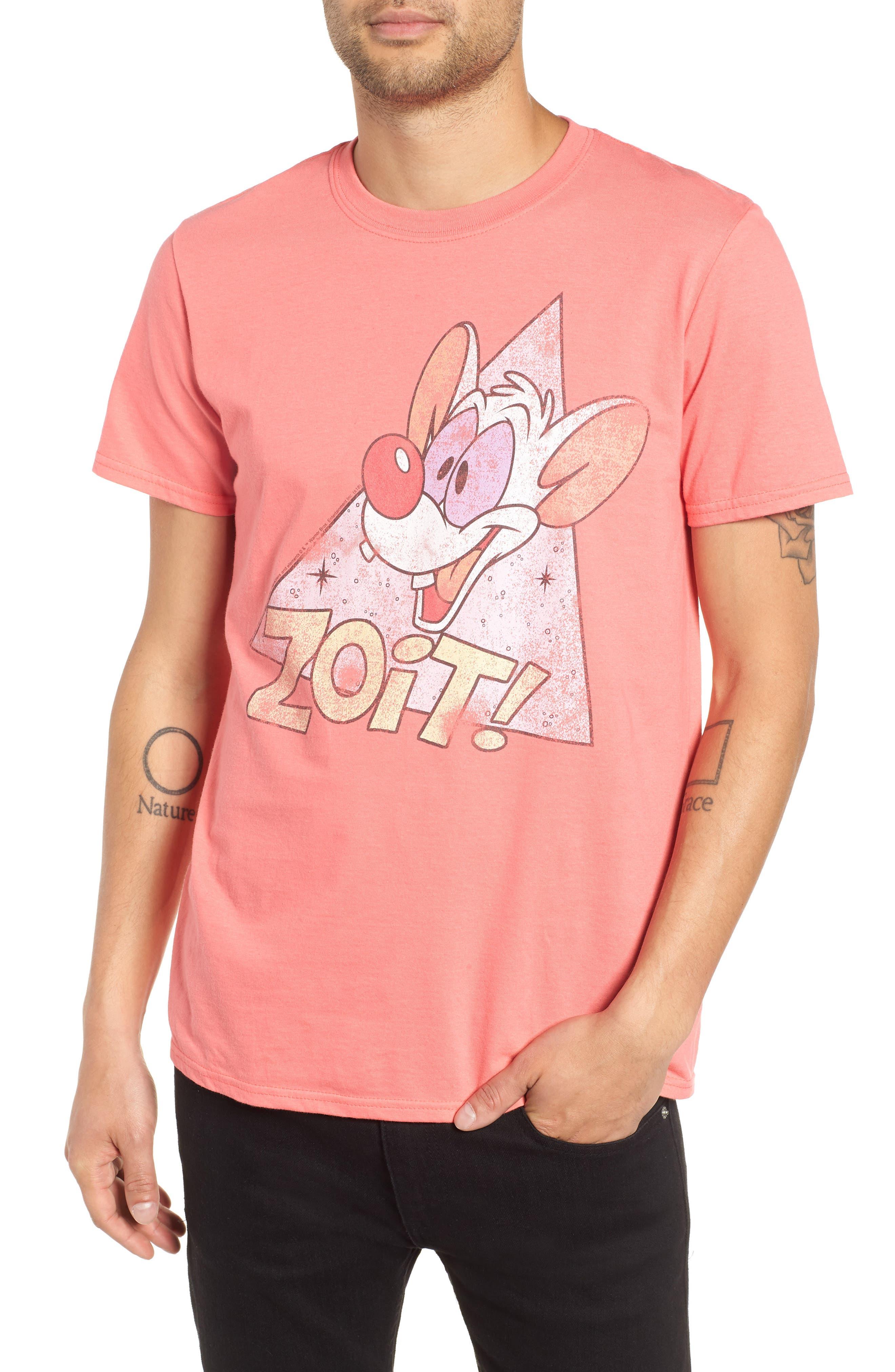 Zoit Graphic T-Shirt,                             Main thumbnail 1, color,                             CORAL ZOIT