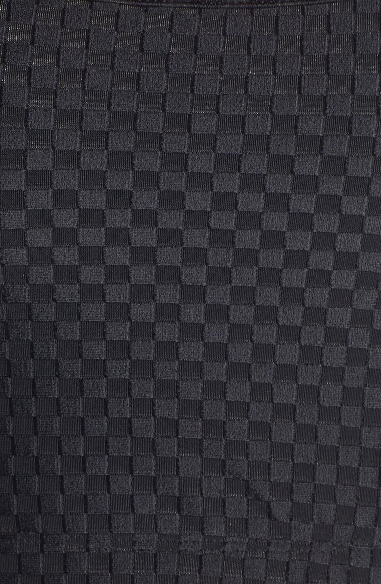 Nitro Sports Bra,                             Alternate thumbnail 6, color,                             BLACK