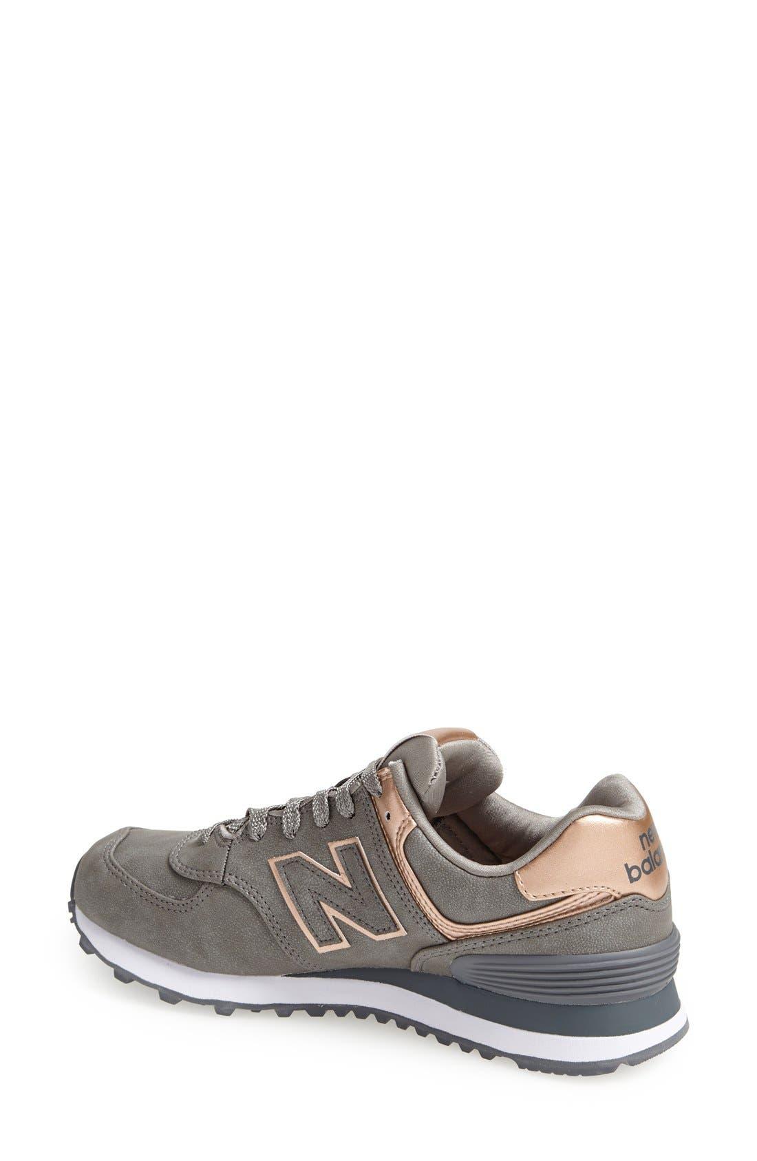 '574 - Precious Metals' Sneaker,                             Alternate thumbnail 3, color,                             040