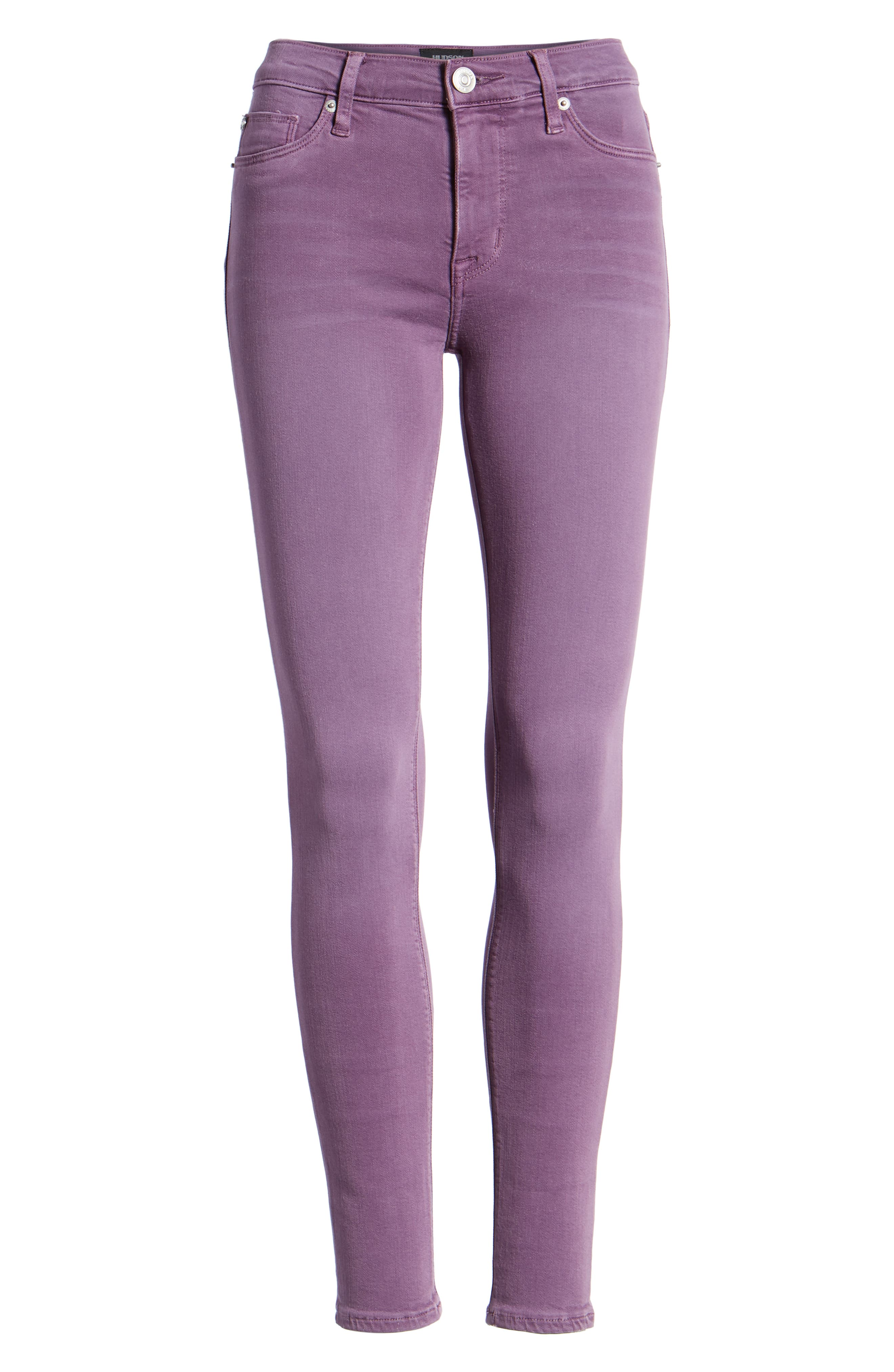 'Nico' Ankle Skinny Jeans,                             Alternate thumbnail 7, color,                             512