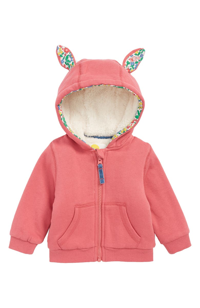 4d923087c817 Mini Boden Bunny Full-Zip Hoodie (Baby Girls   Toddler Girls ...
