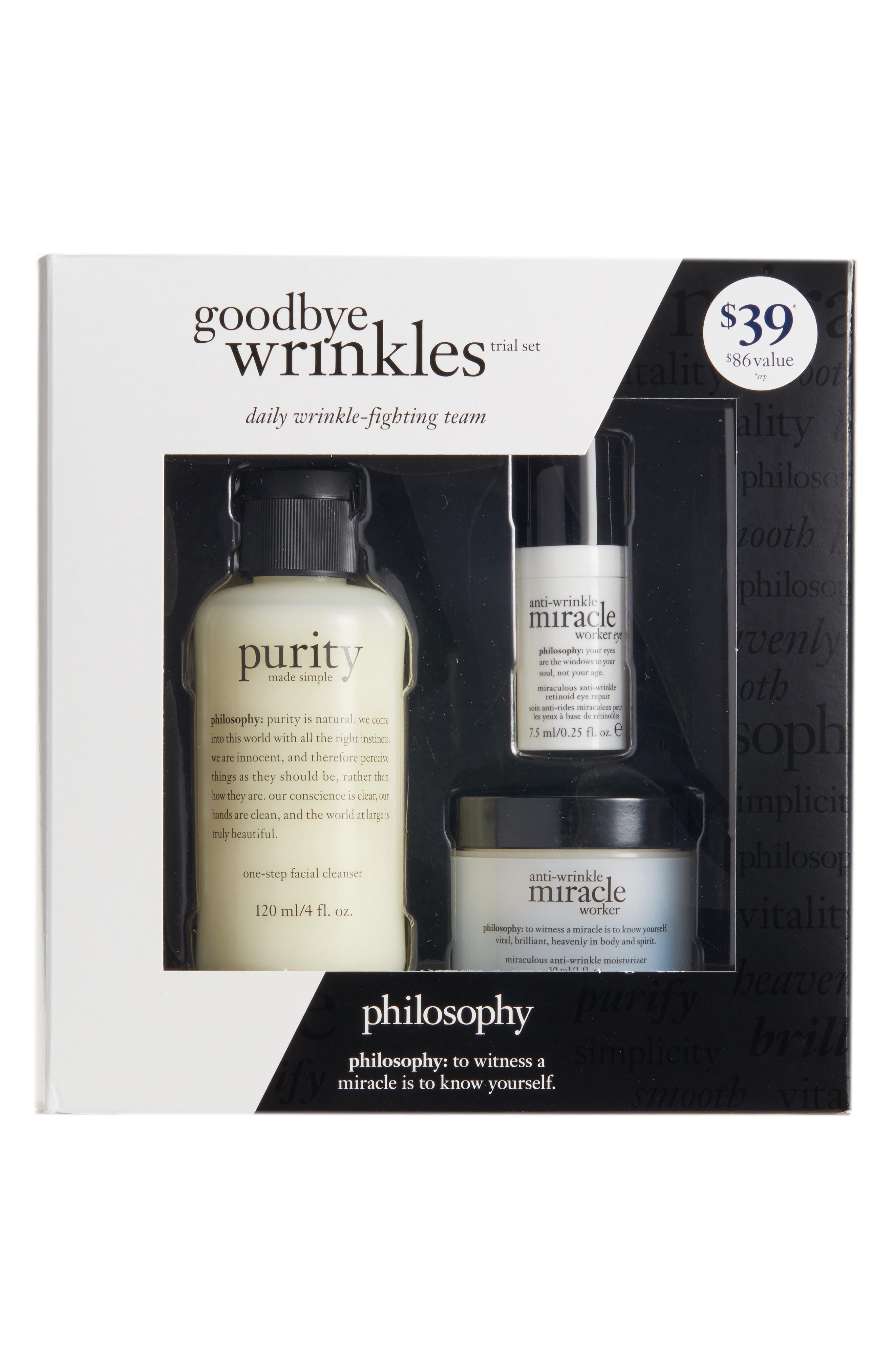 goodbye wrinkles set,                             Alternate thumbnail 2, color,                             000