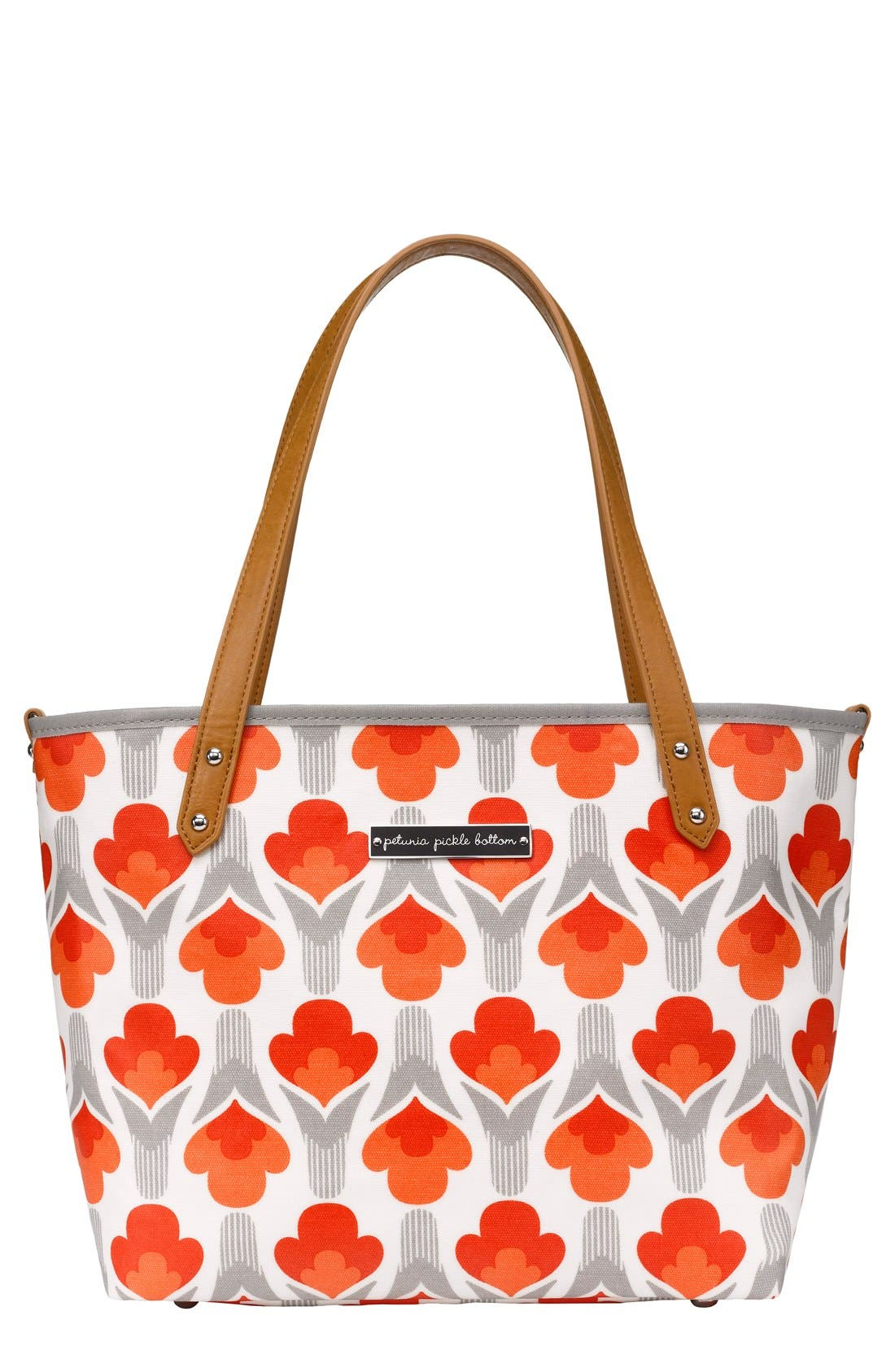 'Downtown Mini' Coated Canvas Diaper Tote,                             Main thumbnail 9, color,