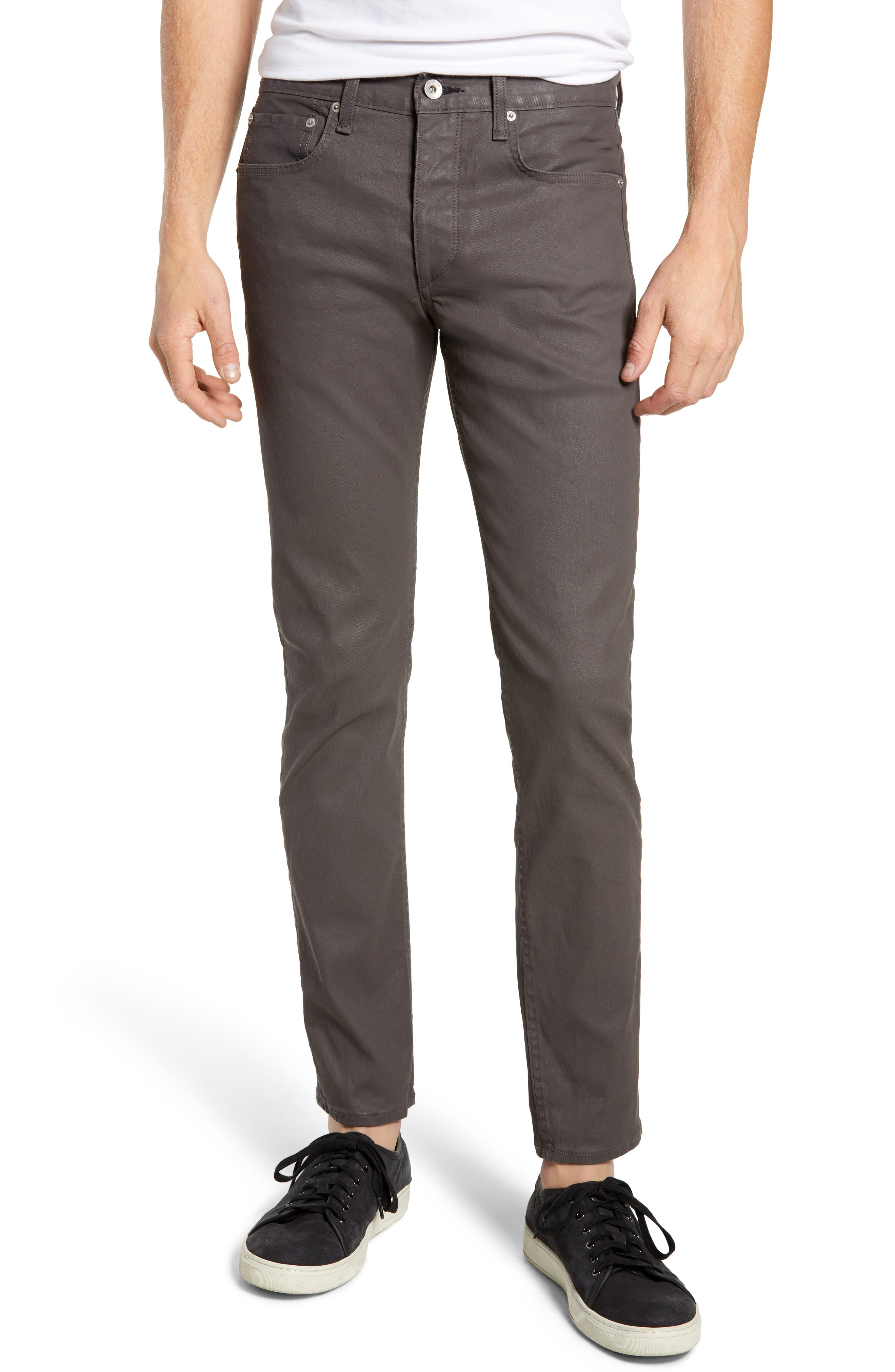 Fit 2 Slim Fit Pants,                         Main,                         color, COATED CLAY