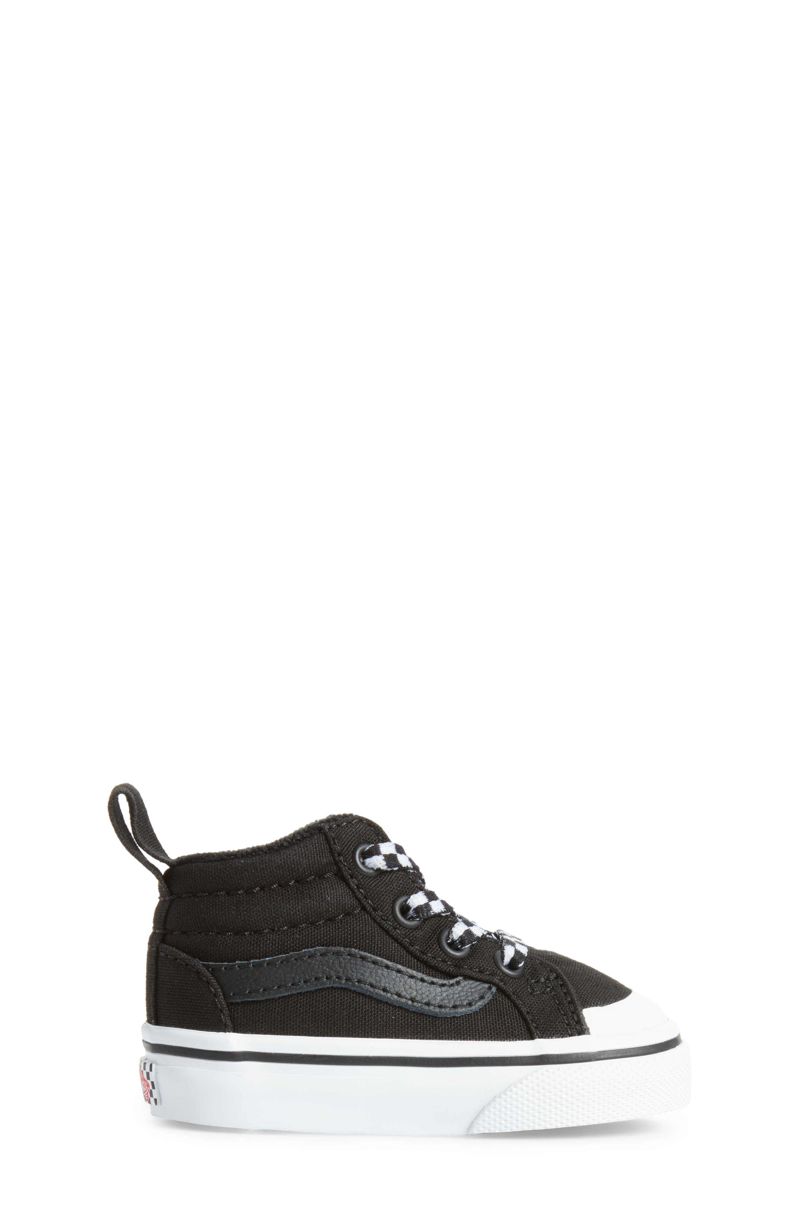 Racer Mid Elastic Lace Sneaker,                             Alternate thumbnail 16, color,