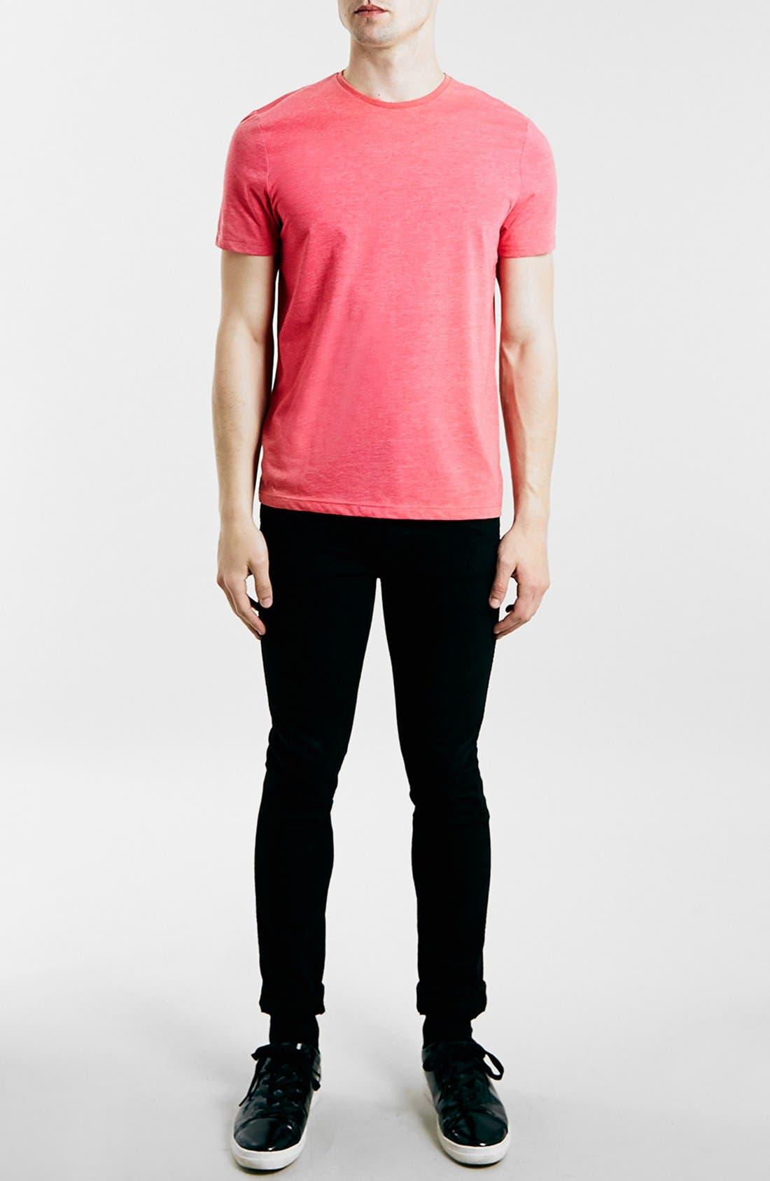 Slim Fit Crewneck T-Shirt,                             Alternate thumbnail 269, color,