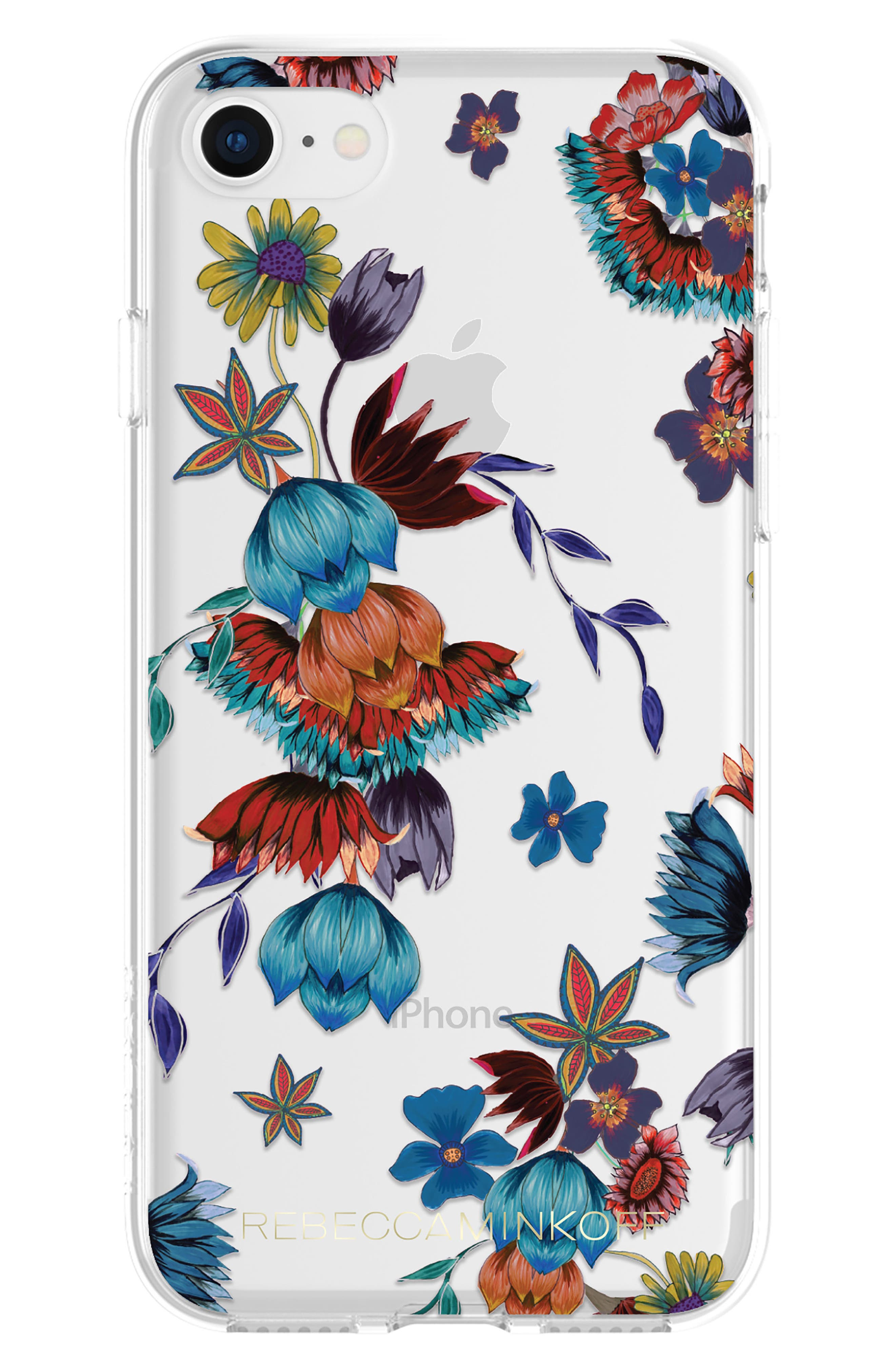 Punk Floral iPhone 7/8 & 7/8 Plus Case,                             Alternate thumbnail 2, color,                             400