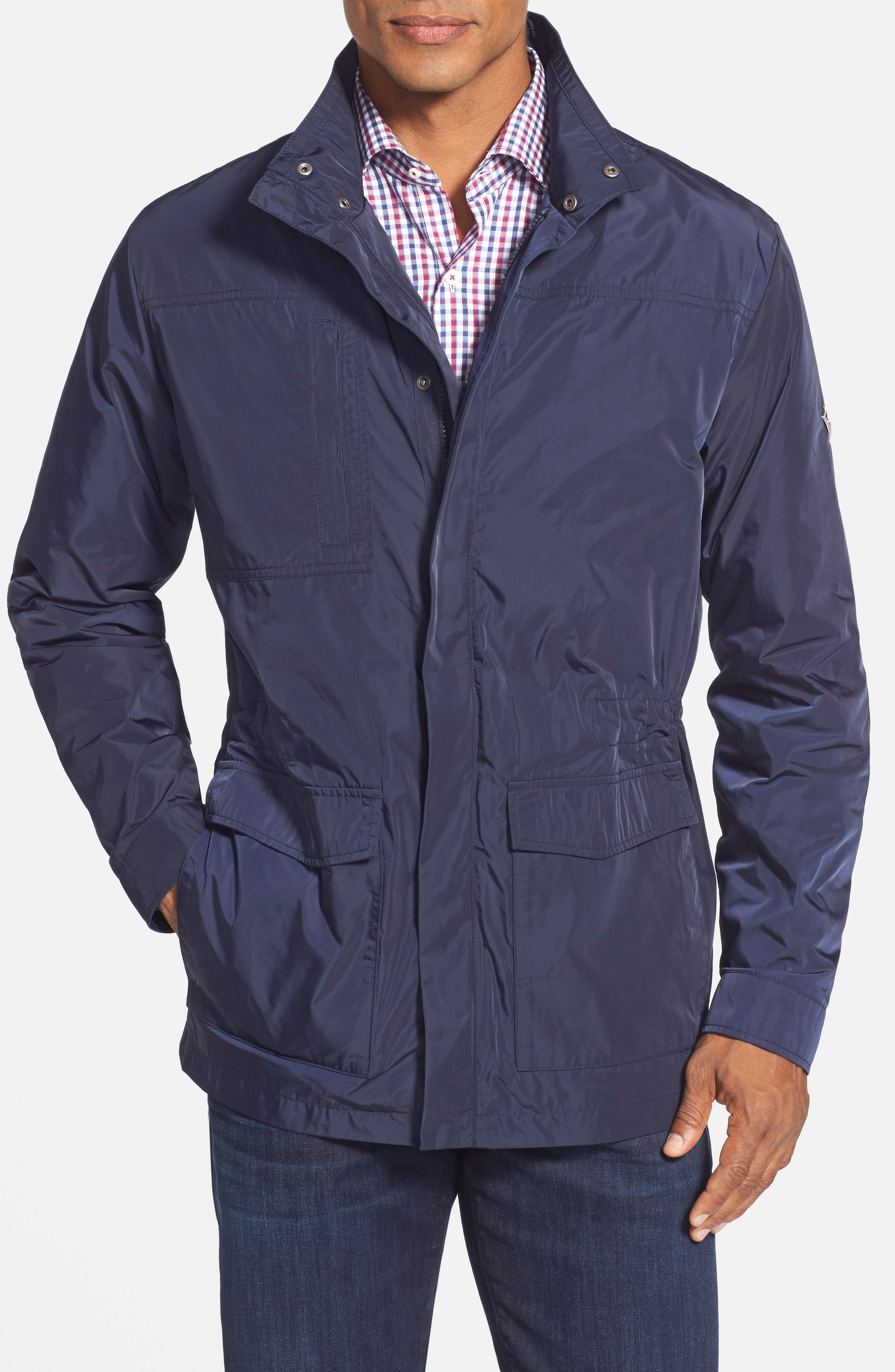 Birch Bay Water Resistant Jacket,                             Alternate thumbnail 5, color,                             493