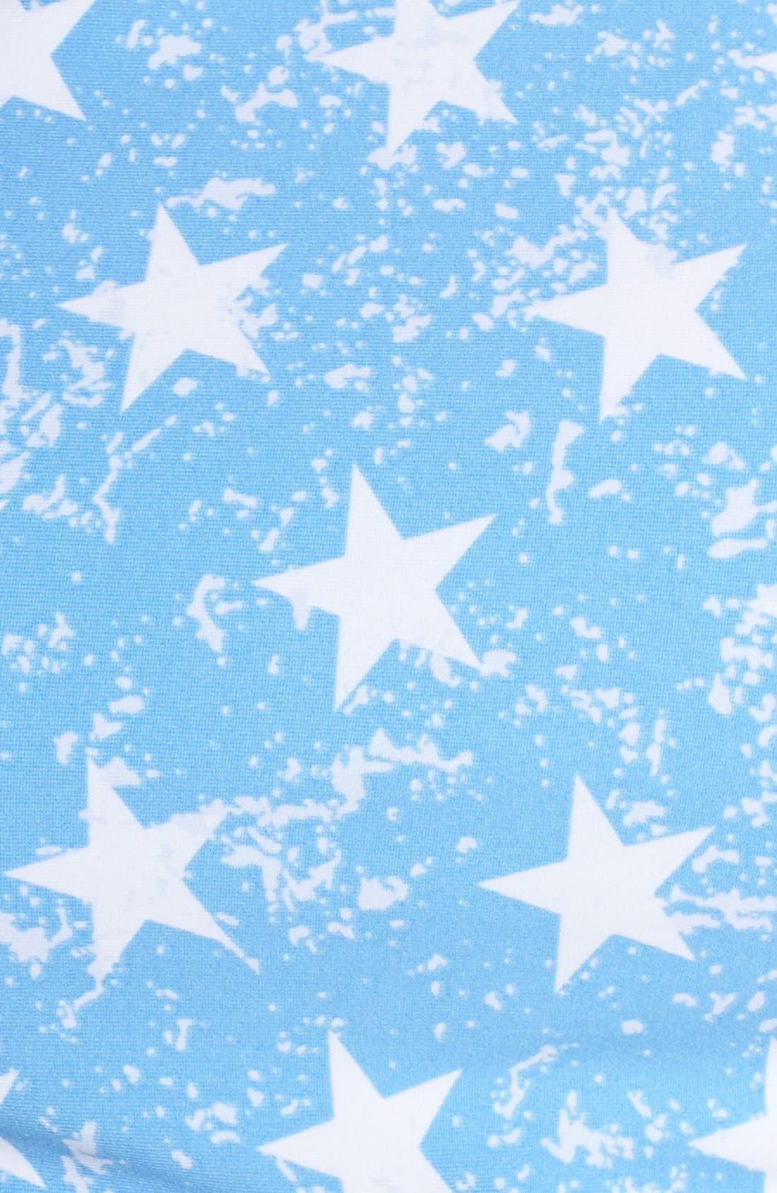 'American Flag - Red, White & You' High Neck Bikini Top,                             Alternate thumbnail 3, color,                             400