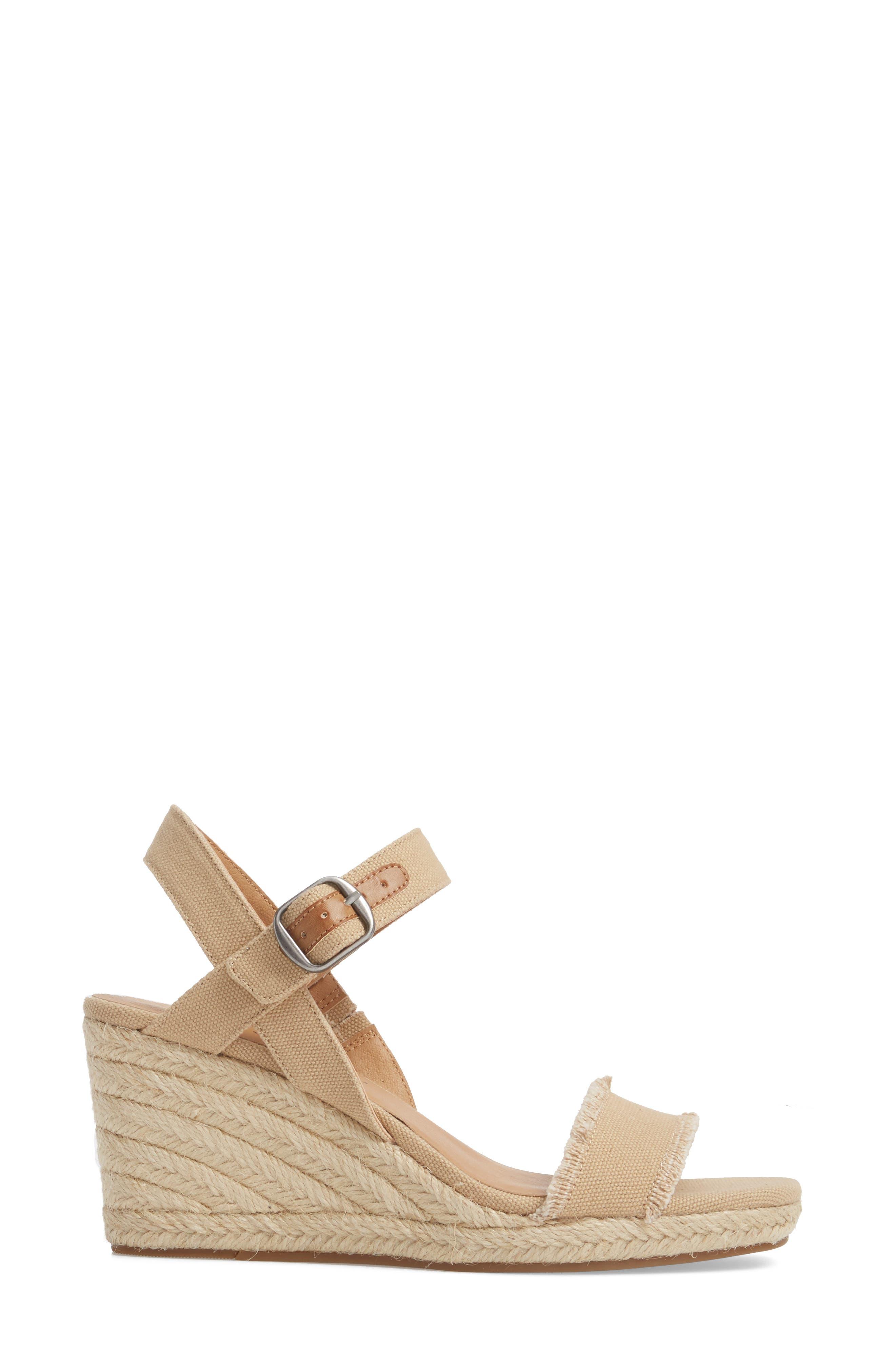Marceline Squared Toe Wedge Sandal,                             Alternate thumbnail 17, color,