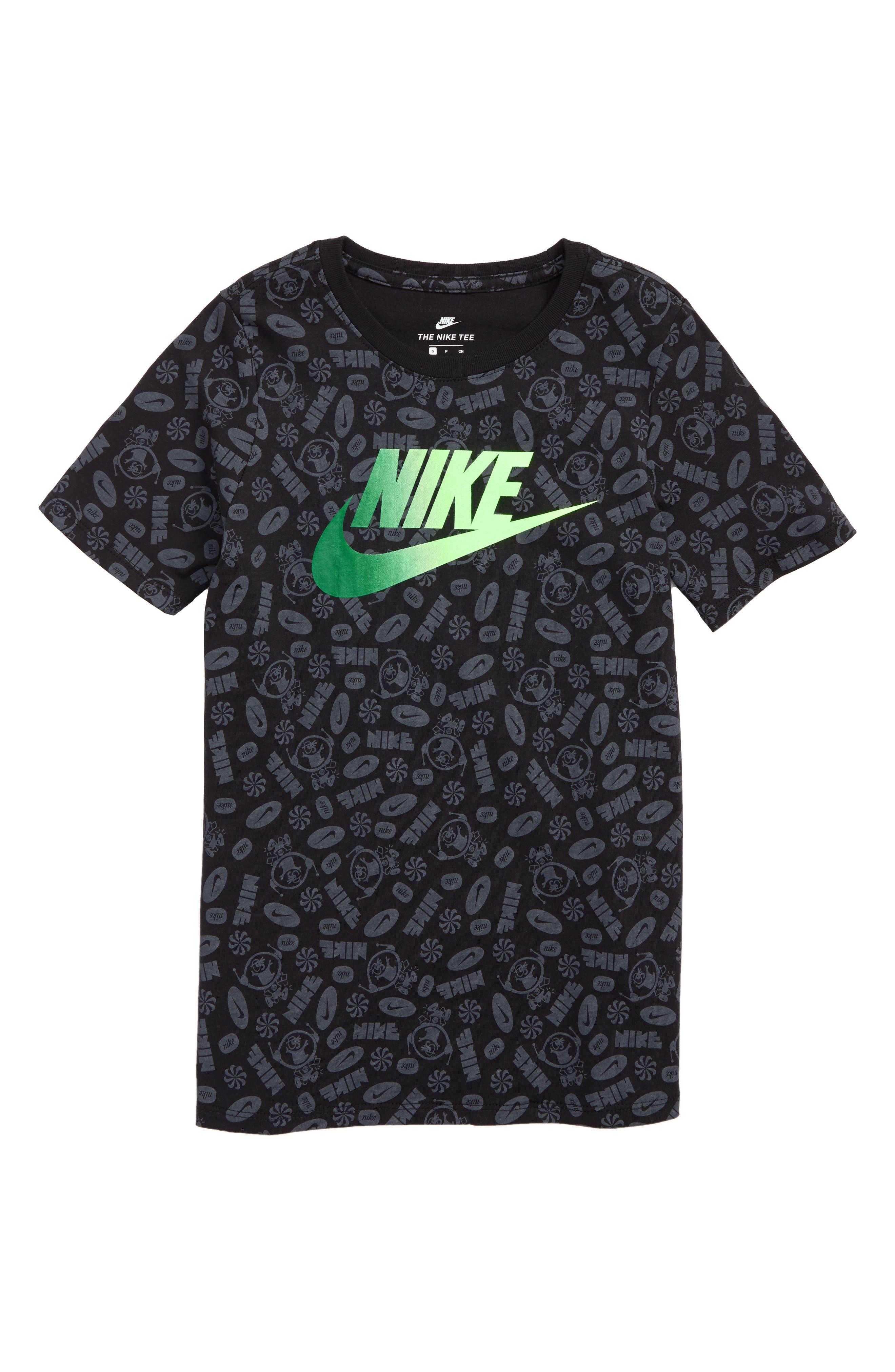Swoosh Splash T-Shirt,                         Main,                         color, 010