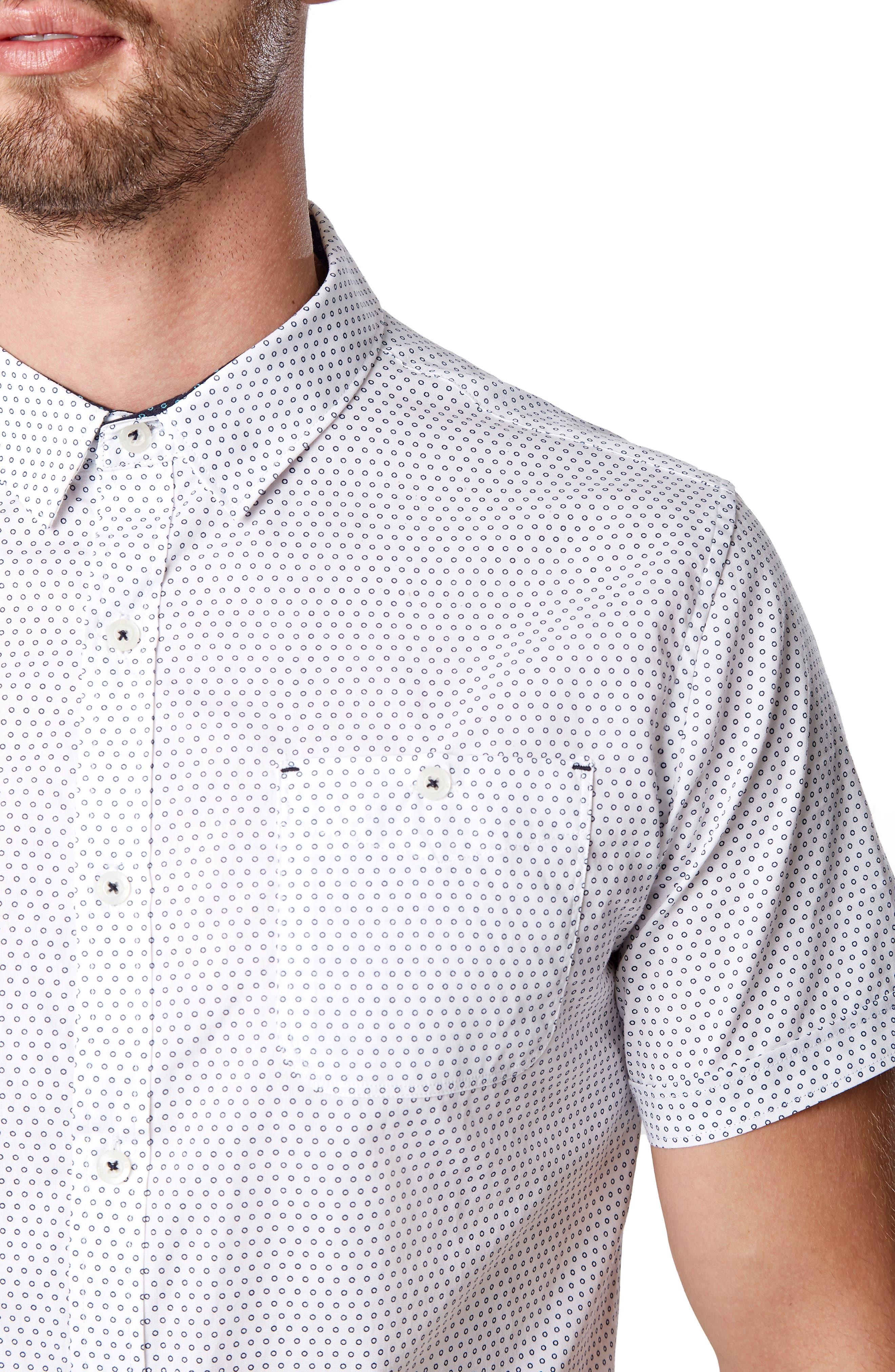 Suavecito Slim Fit Sport Shirt,                             Alternate thumbnail 2, color,                             WHITE