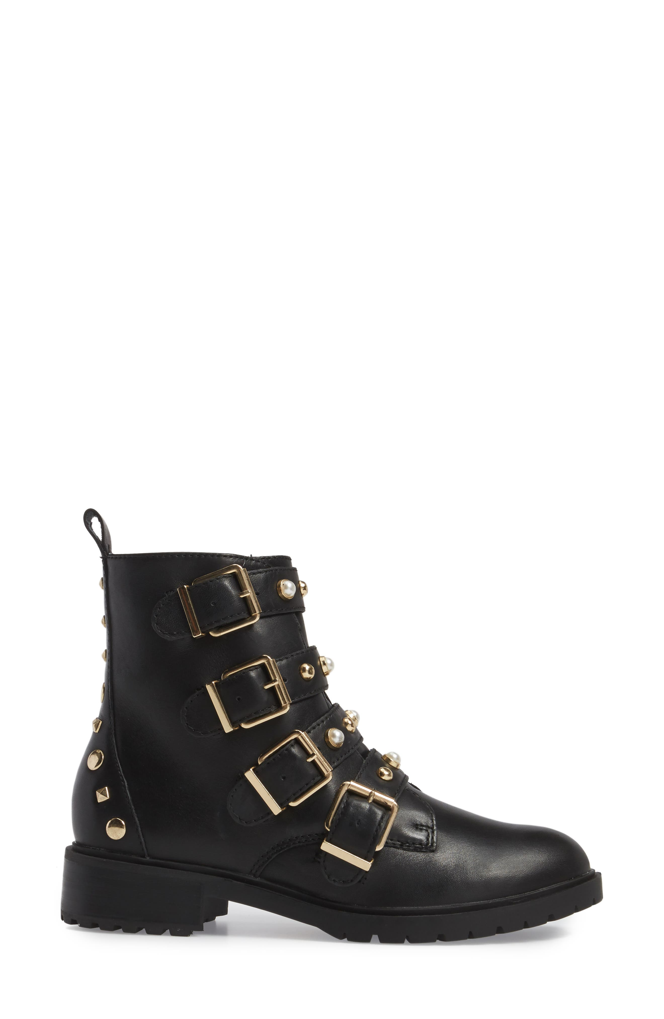 Wilmer Studded Boot,                             Alternate thumbnail 3, color,