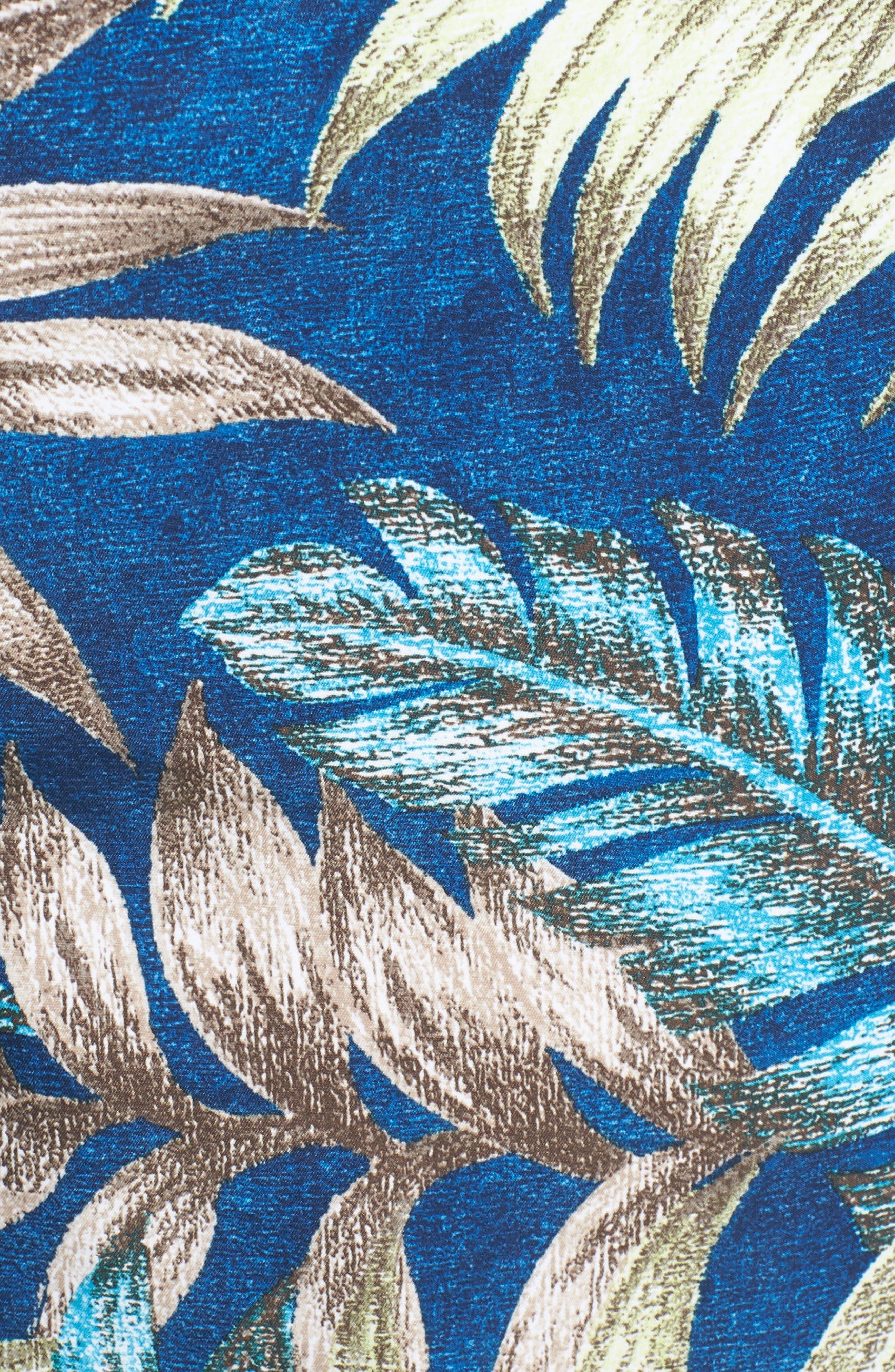 Naples Parque Palms Swim Trunks,                             Alternate thumbnail 5, color,                             400