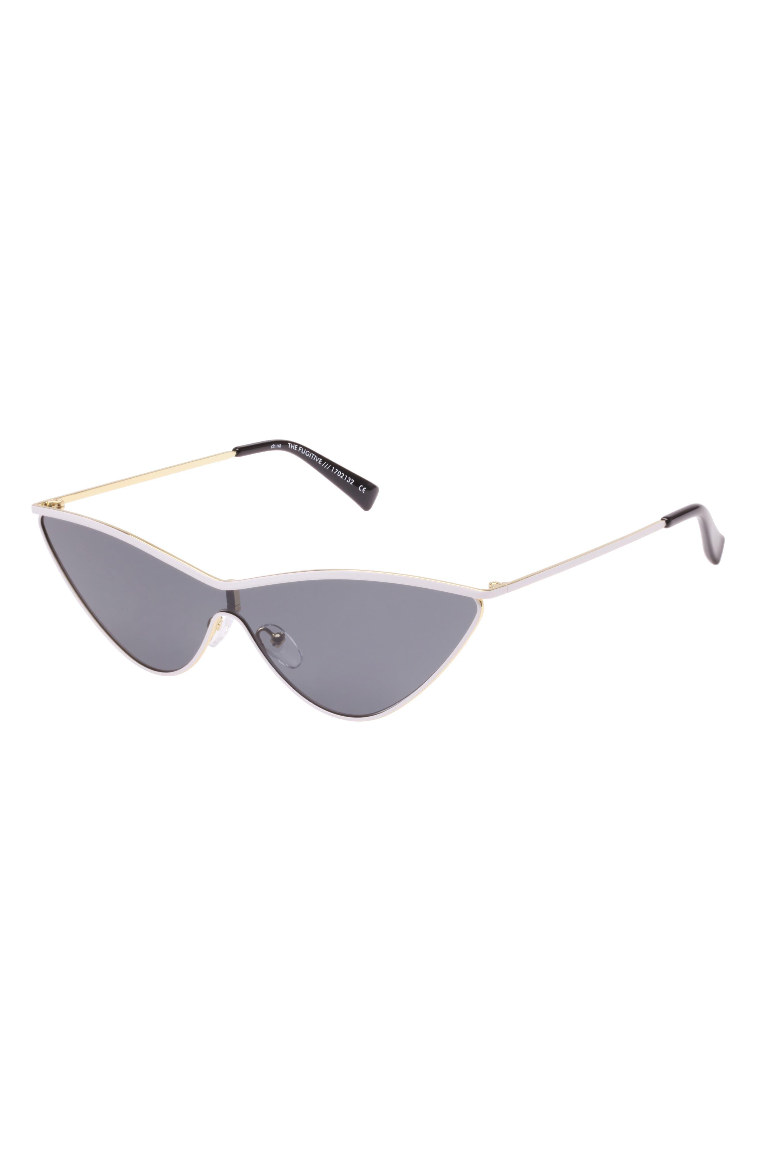 The Fugitive 71mm Sunglasses,                             Alternate thumbnail 3, color,                             WHITE