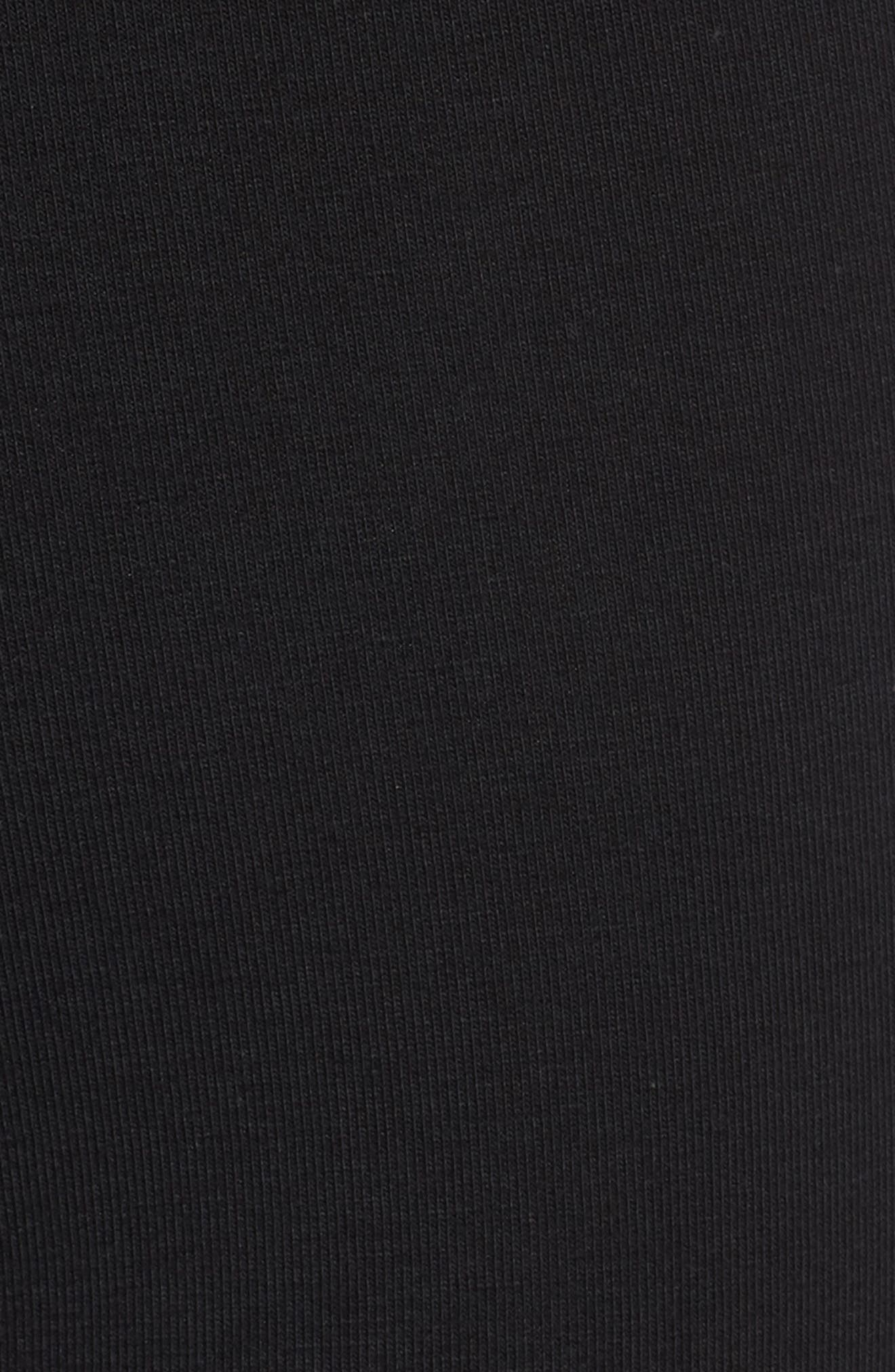 Cotton Trunks,                             Alternate thumbnail 5, color,                             BLACK W/ CAMO WB