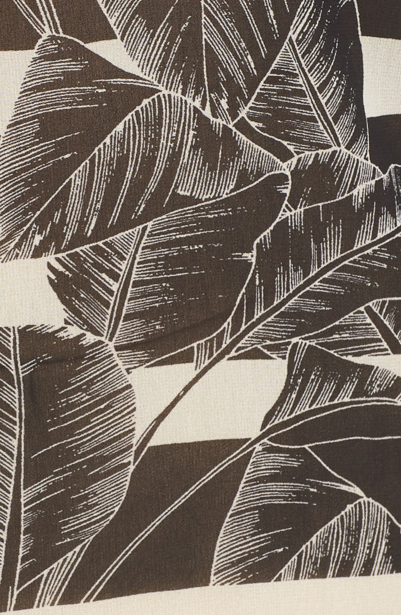 Chiffon Tunic,                             Alternate thumbnail 5, color,                             RICH BLACK