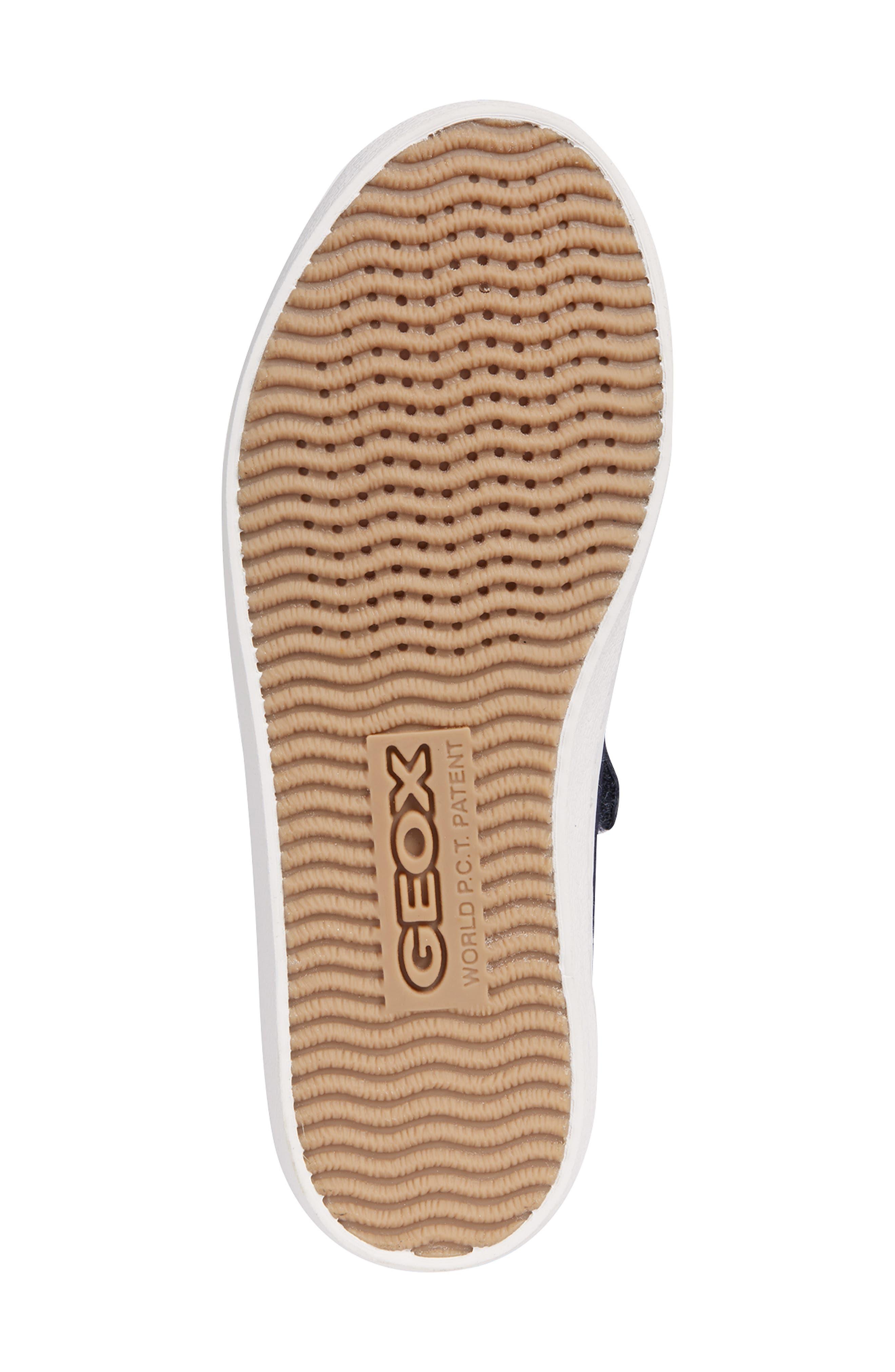 Kilwi Zip Low Top Sneaker,                             Alternate thumbnail 5, color,                             NAVY