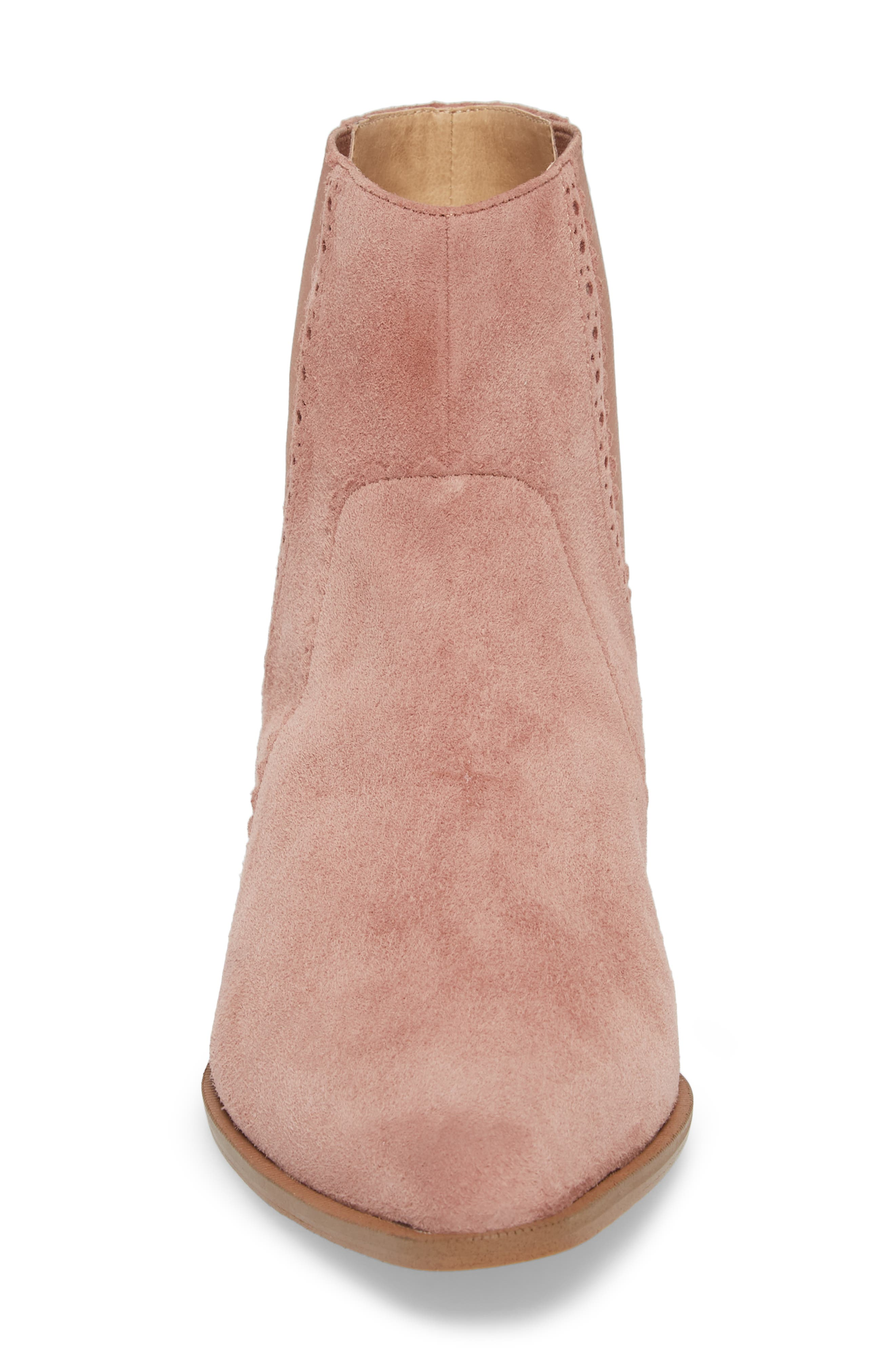 Mica Chelsea Bootie,                             Alternate thumbnail 4, color,                             ROSE SUEDE