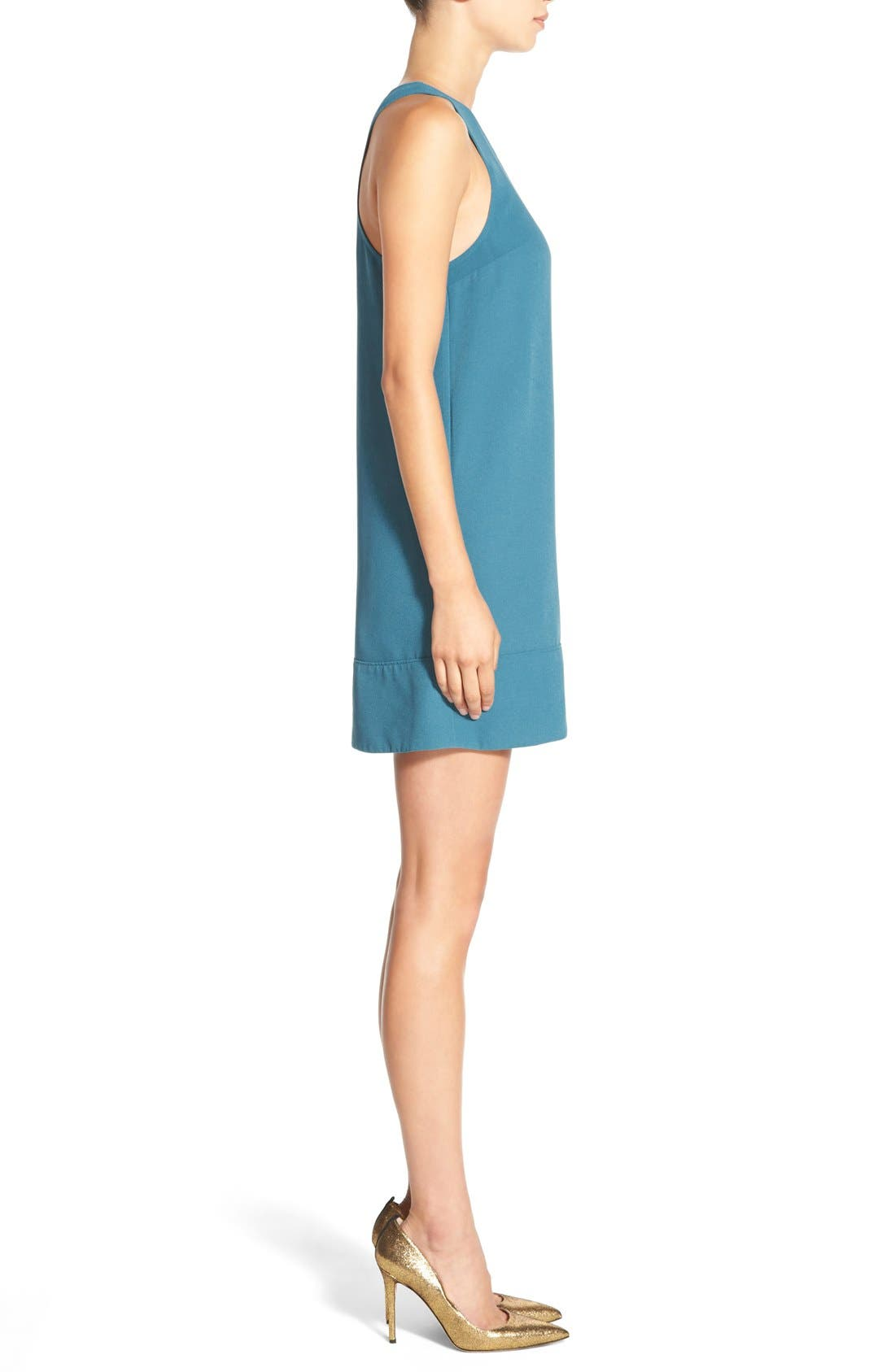 Racerback Shift Dress,                             Alternate thumbnail 146, color,